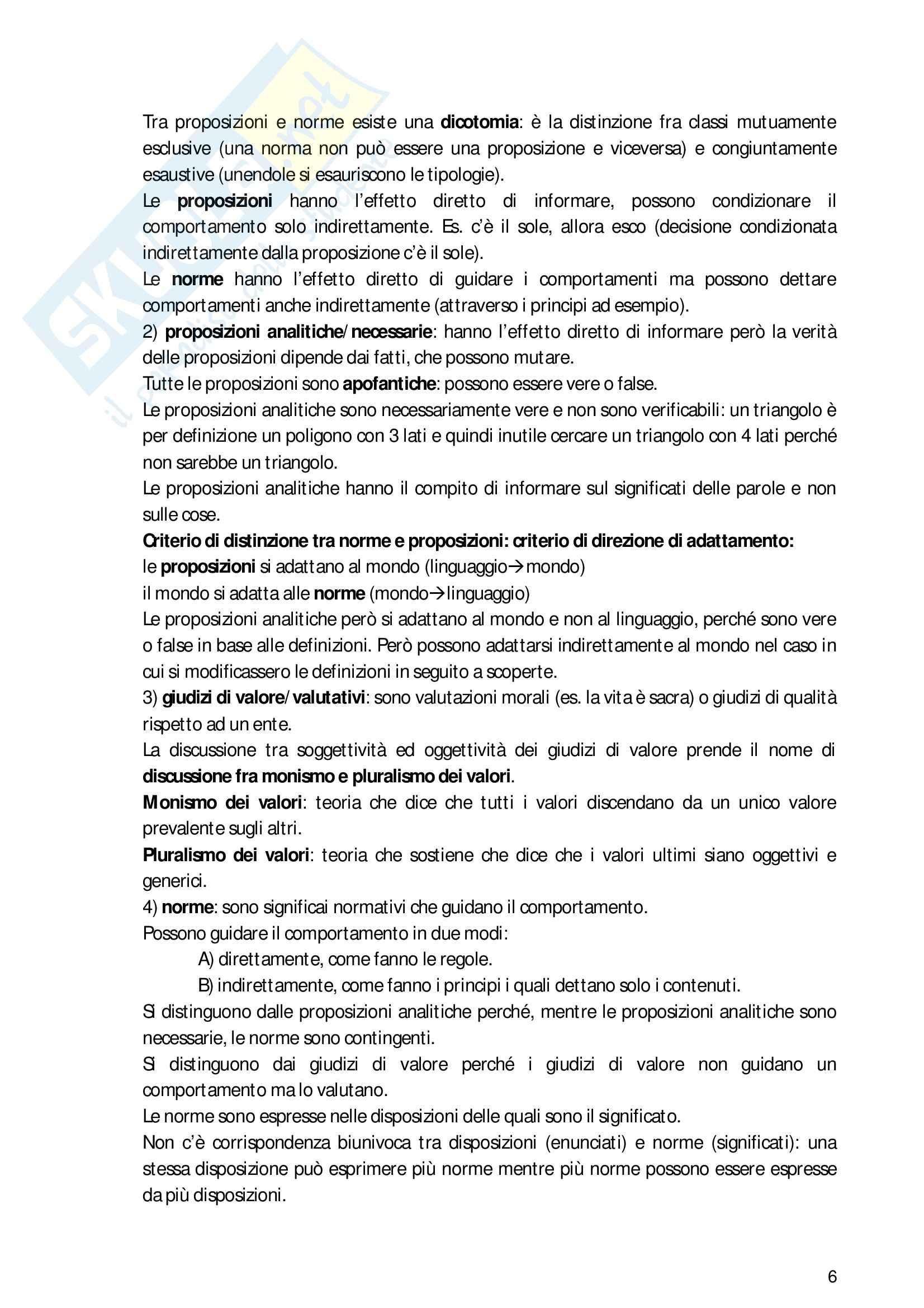Riassunto esame filosofia del diritto, prof. Heritier, libro consigliato Manuale di filosofia del diritto, Barberis Pag. 6