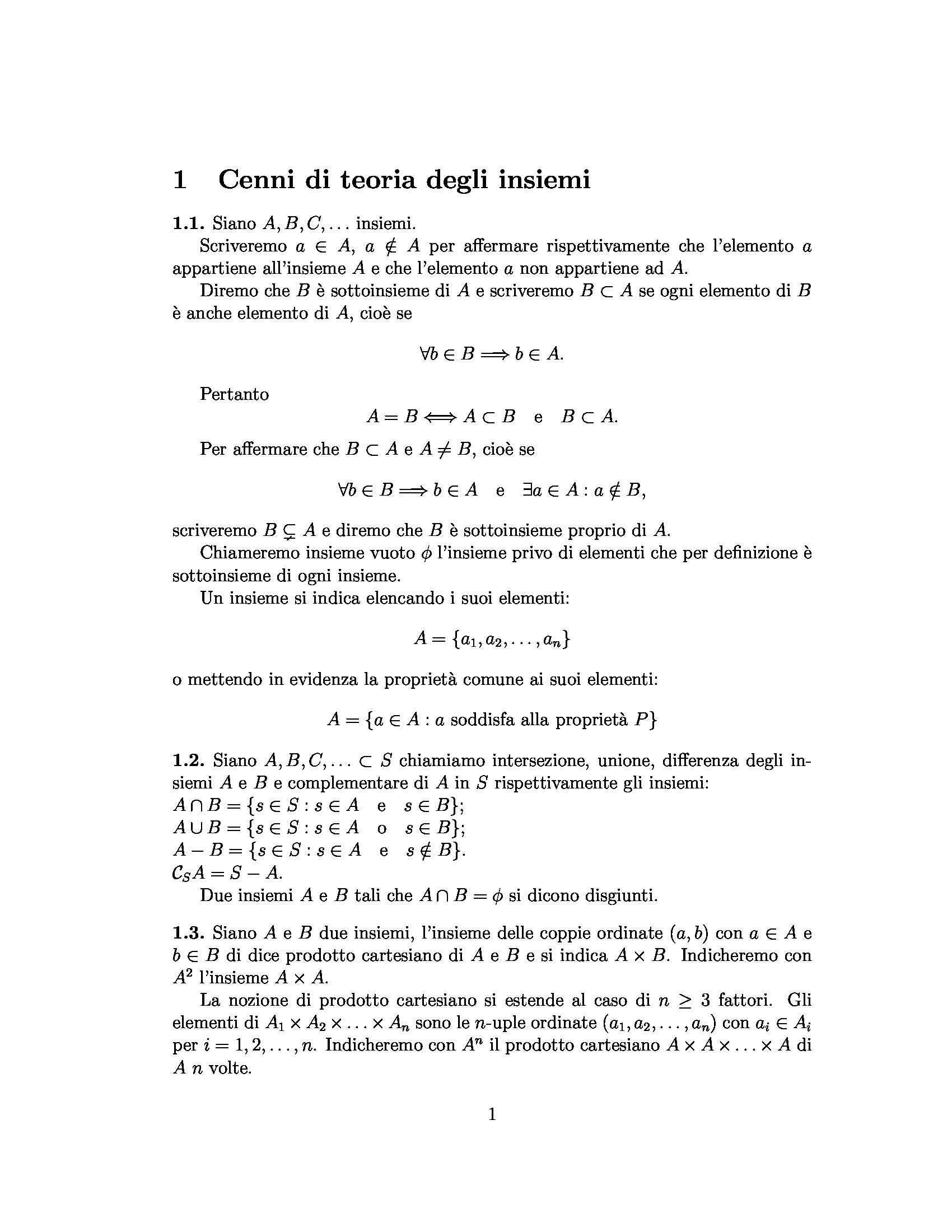 dispensa M. Serpico Geometria