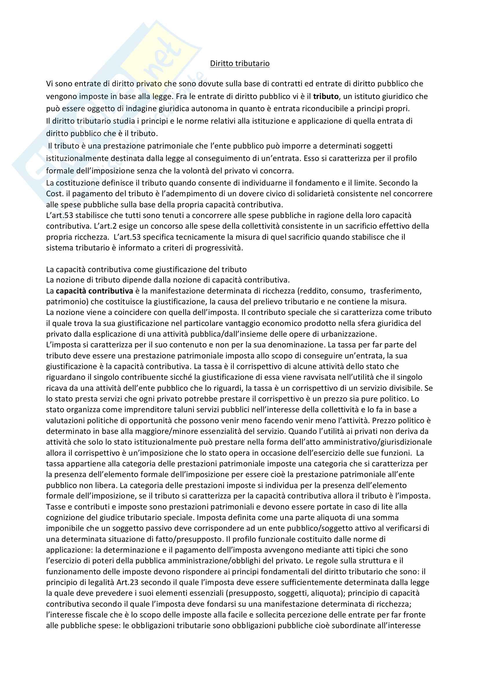 Diritto tributario - Logozzo