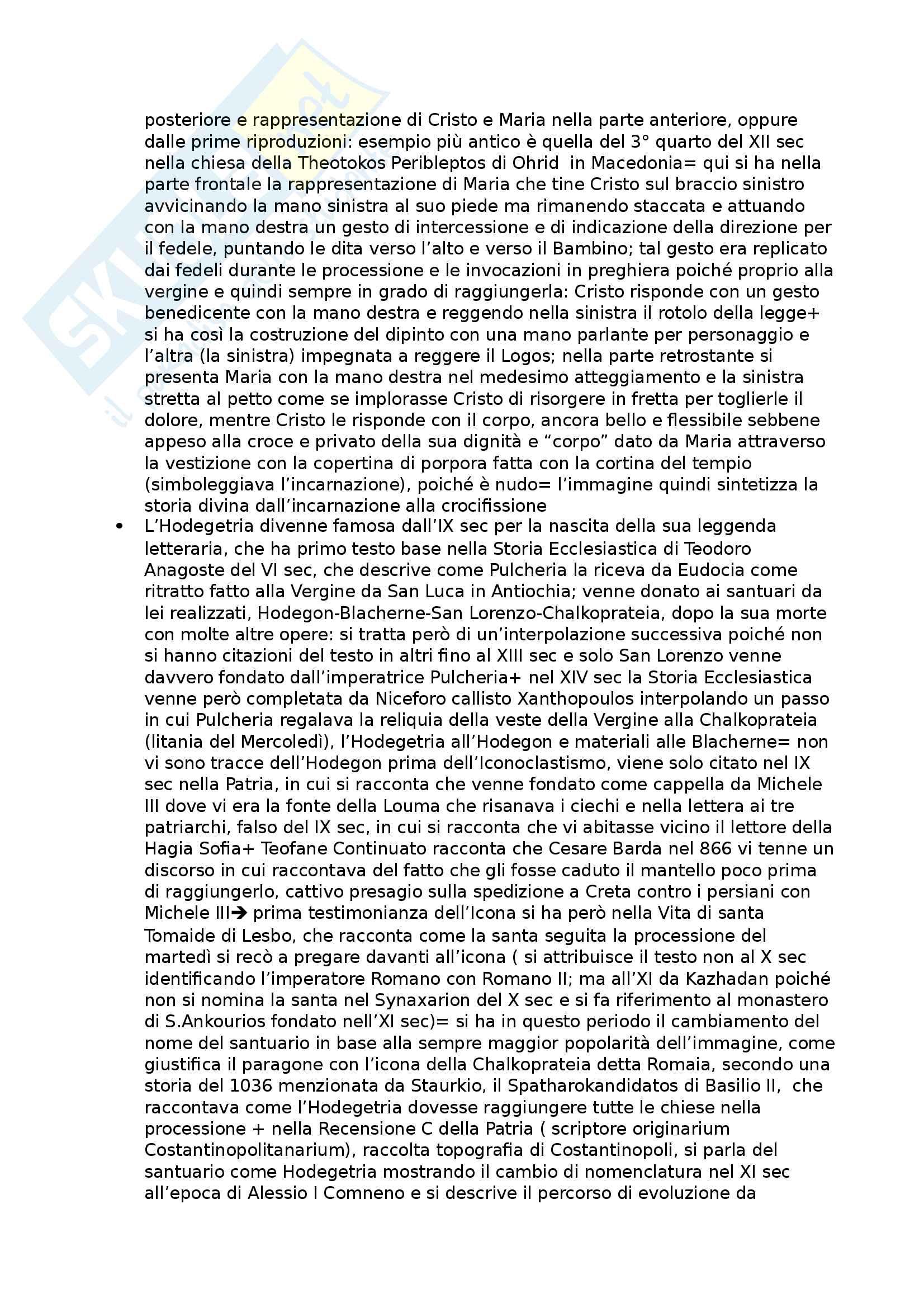 Riassunto esame Storia dell'arte medievale, prof Della Valle, libro consigliato Icone e Potere, Pentcheva Pag. 16