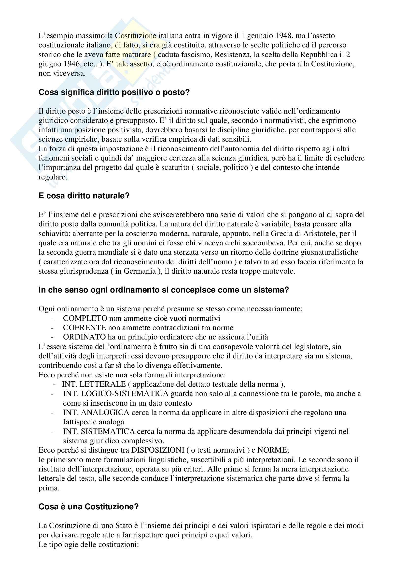 Risposte alle domande del manuale Barbera, Fusaro Pag. 2