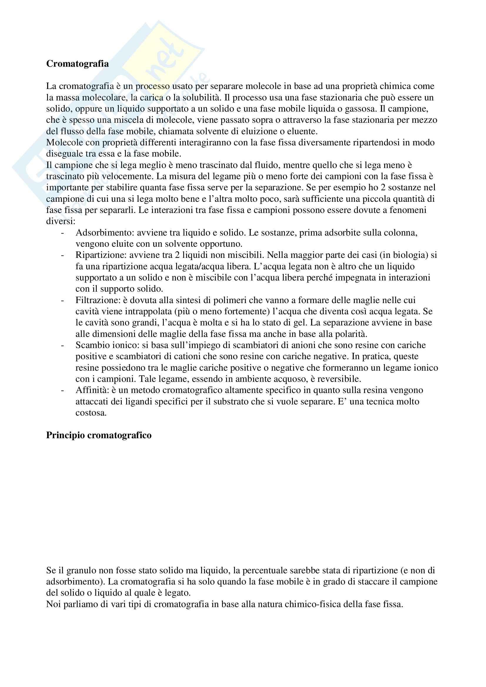 appunto D. Caruso Biochimica applicata