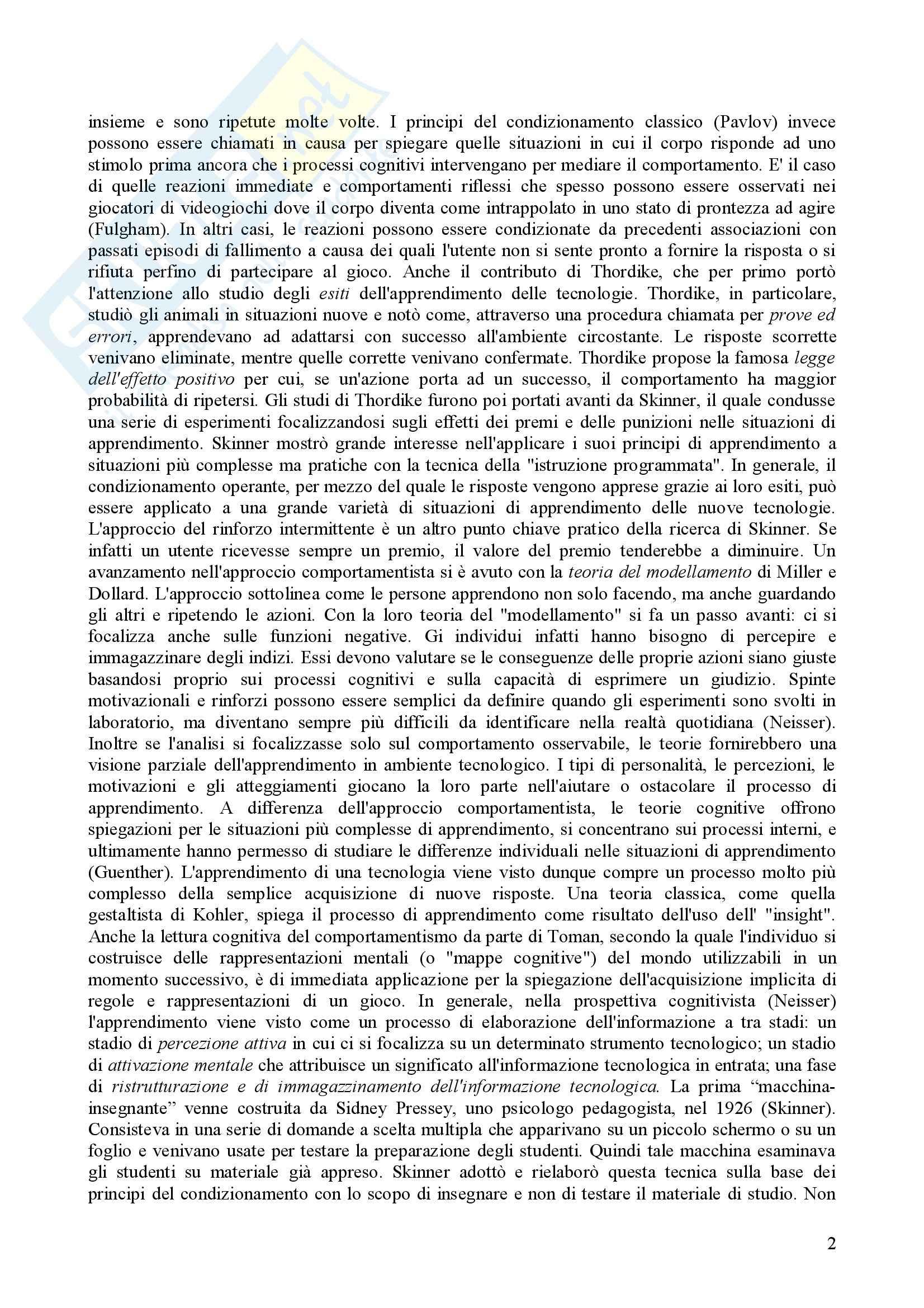 Psicologia dell'apprendimento e della memoria Pag. 36