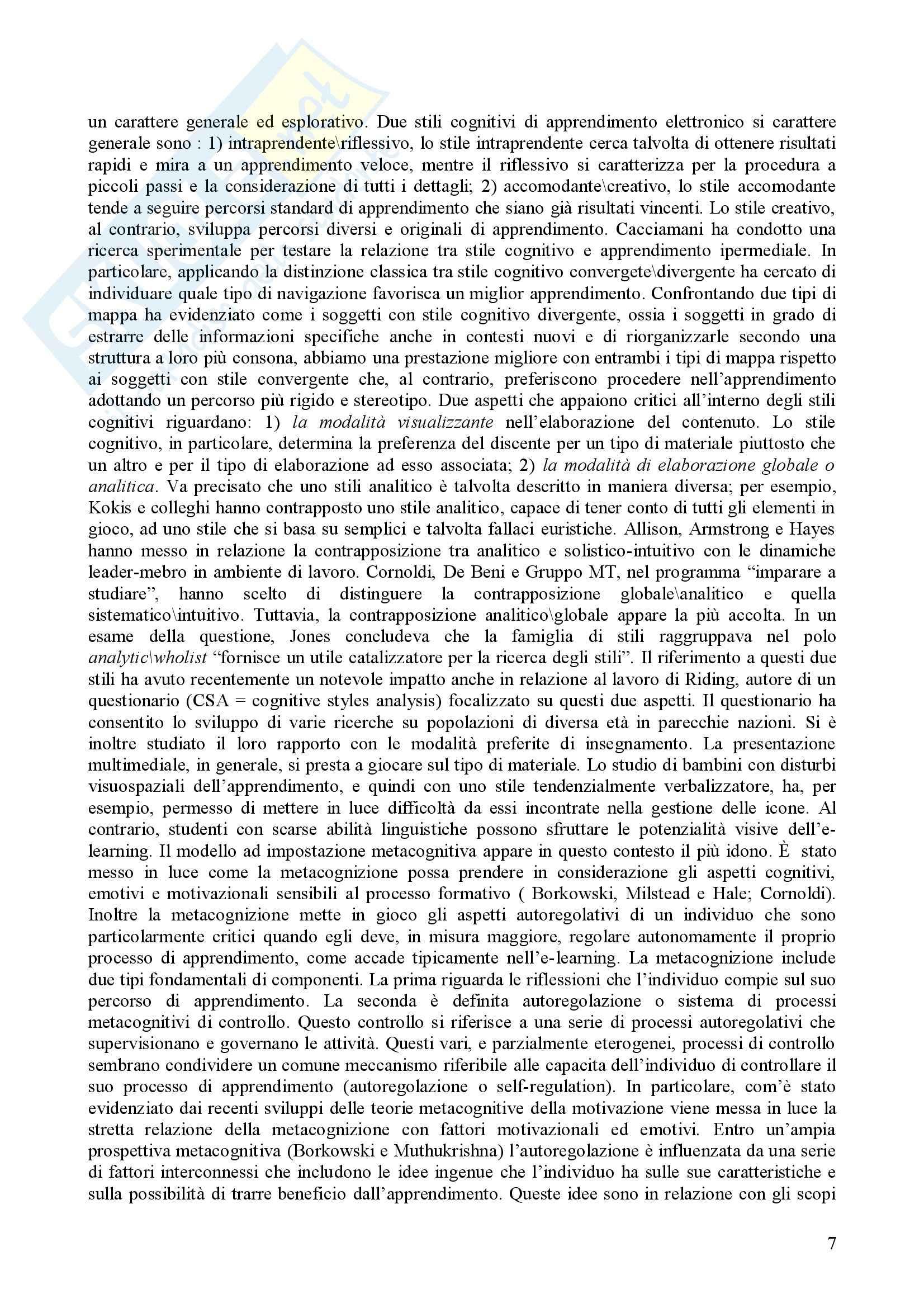 Psicologia dell'apprendimento e della memoria Pag. 41