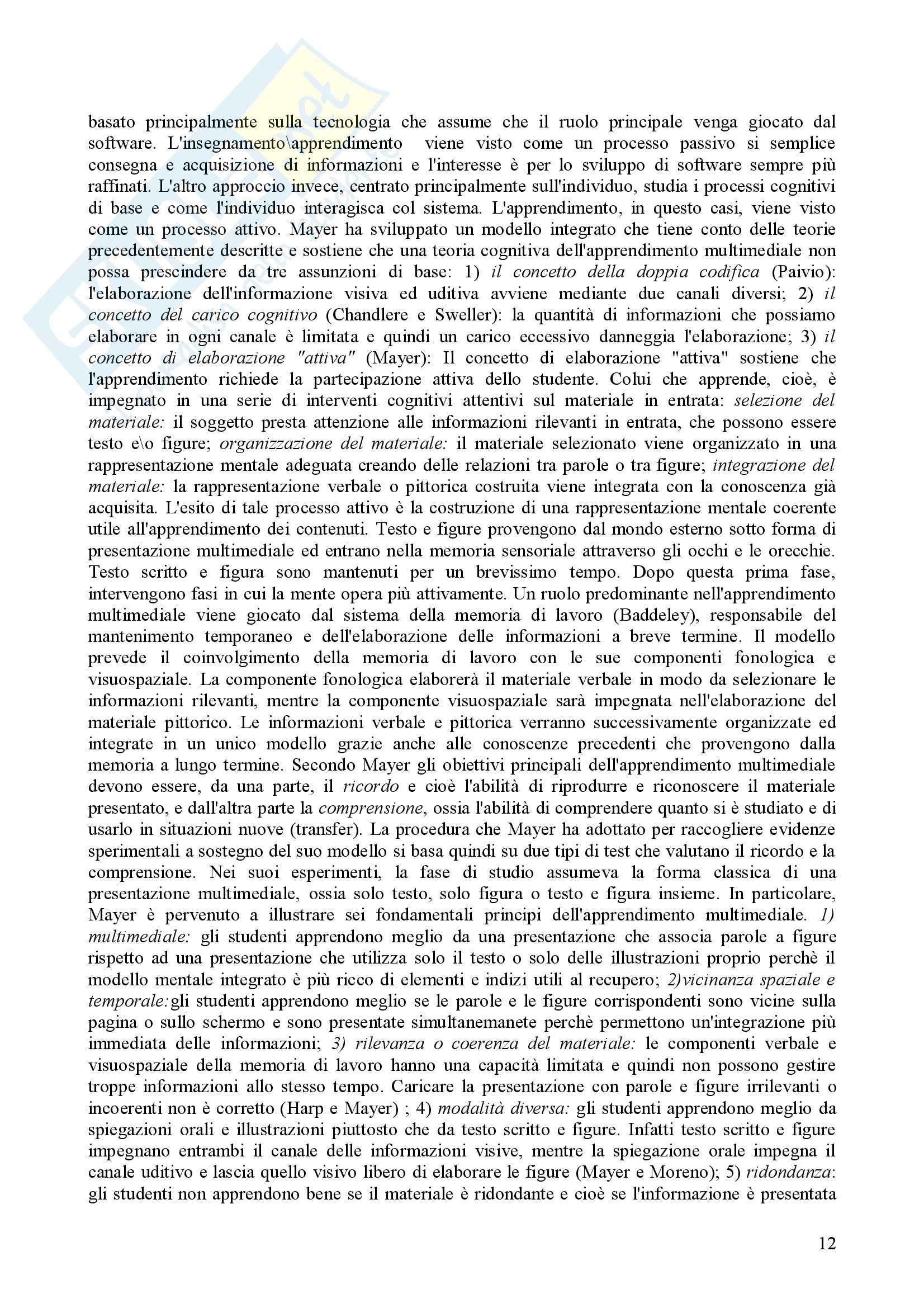 Psicologia dell'apprendimento e della memoria Pag. 46