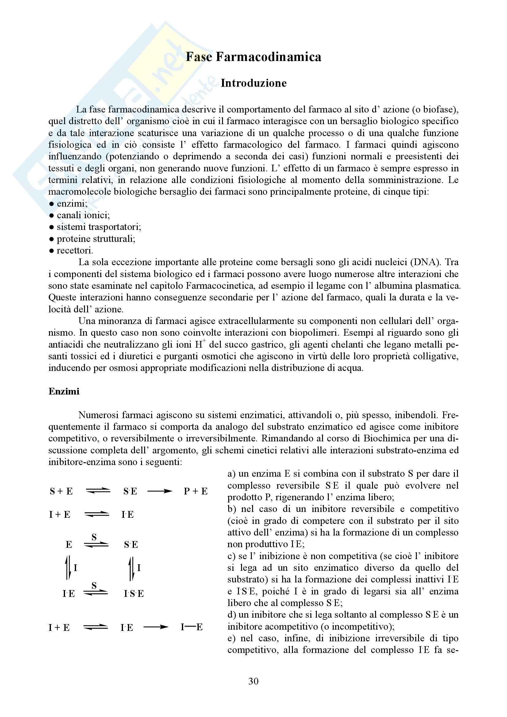 Chimica farmaceutica e tossicologica I - Appunti Pag. 31