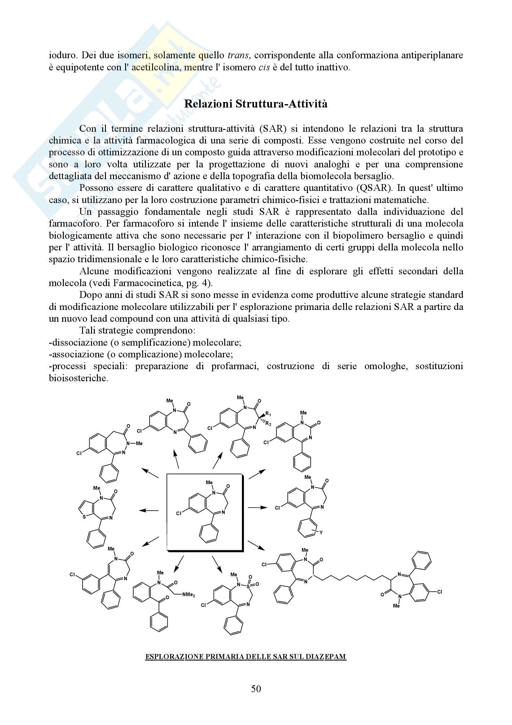 Chimica farmaceutica e tossicologica I - Appunti Pag. 51