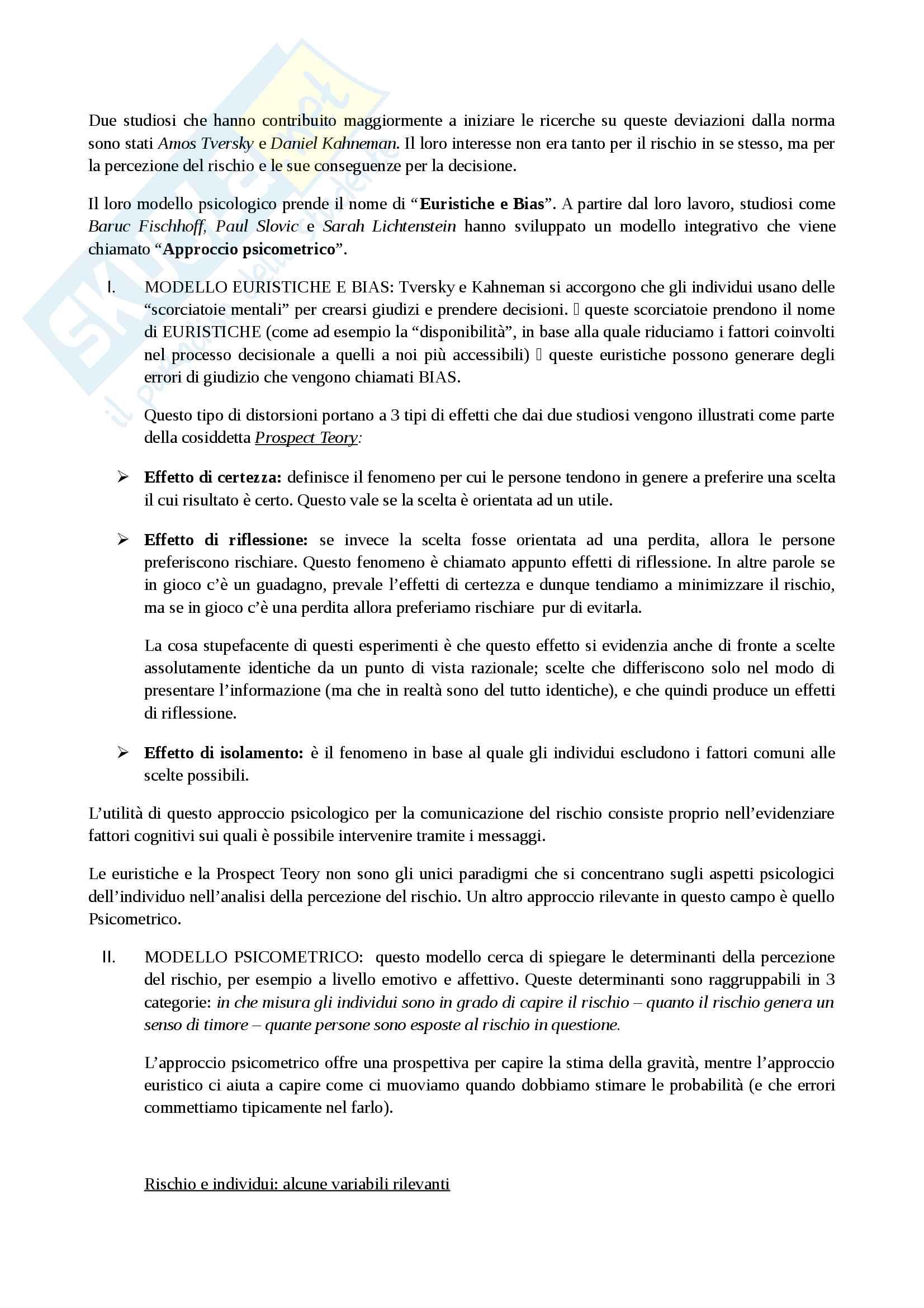 Appunto - esame sociologia della salute Pag. 6