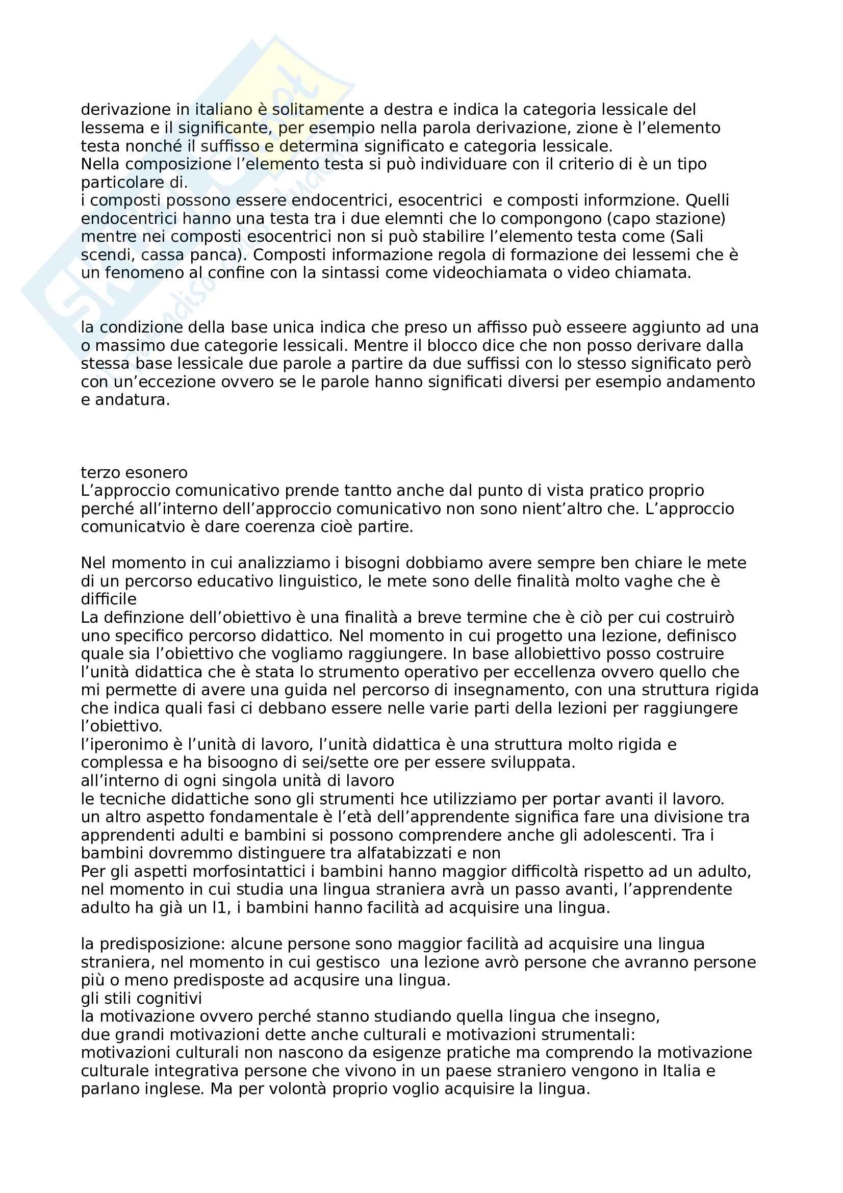 Linguistica generale Pag. 11