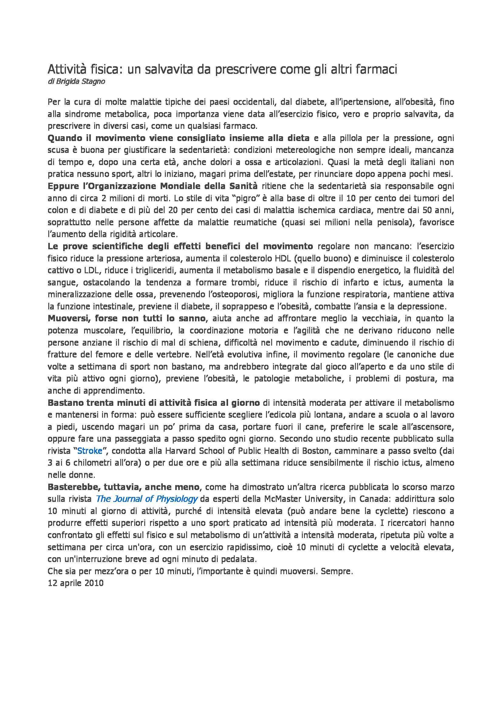 dispensa J. Freda Metodi e didattica delle attività motorie