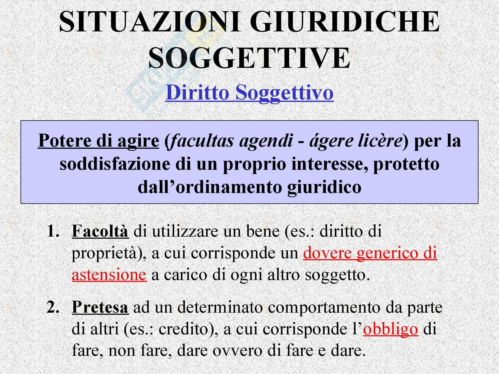Diritto privato - Il rapporto giuridico Pag. 6