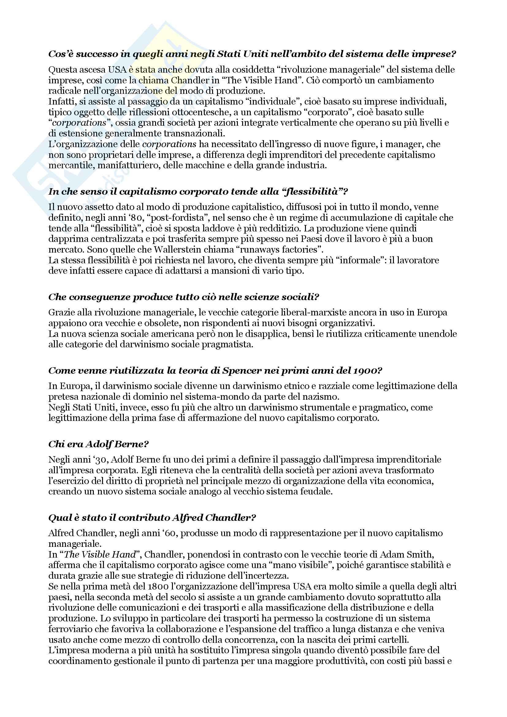 Esame di sociologia, domande e risposte su tutto il programma Pag. 21