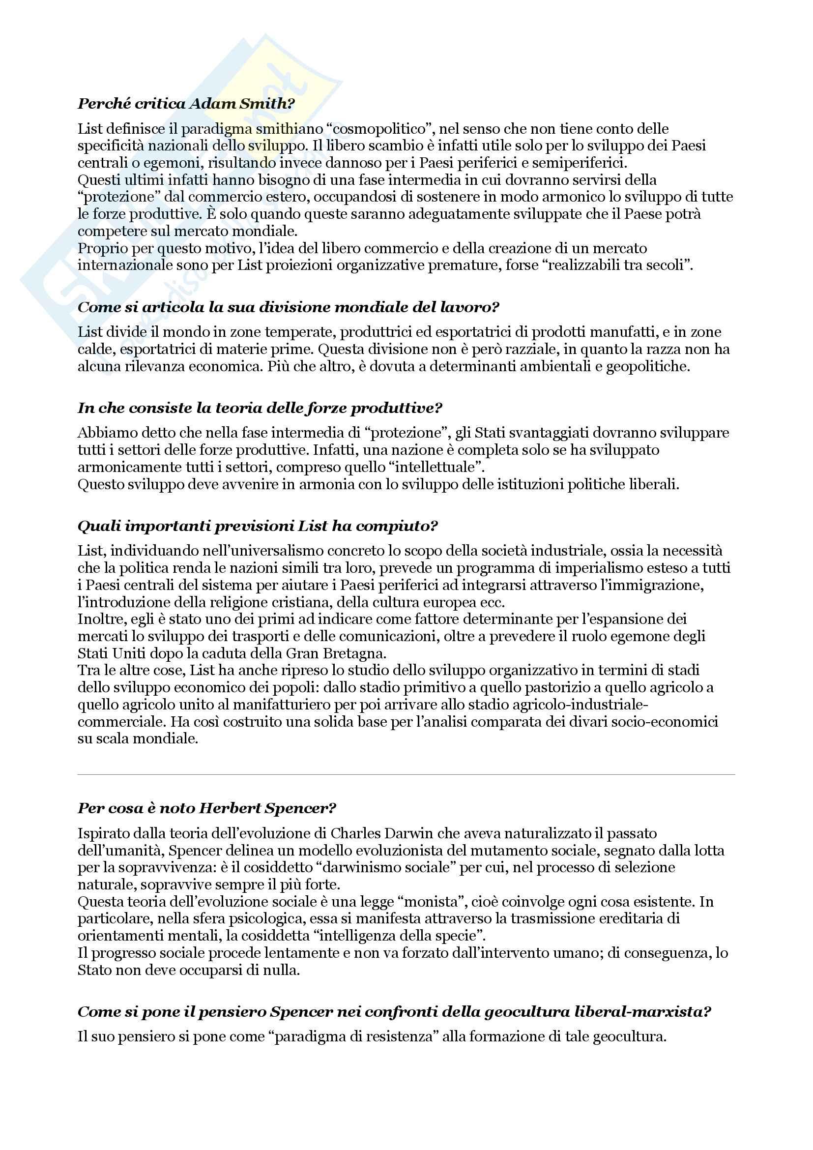 Esame di sociologia, domande e risposte su tutto il programma Pag. 6
