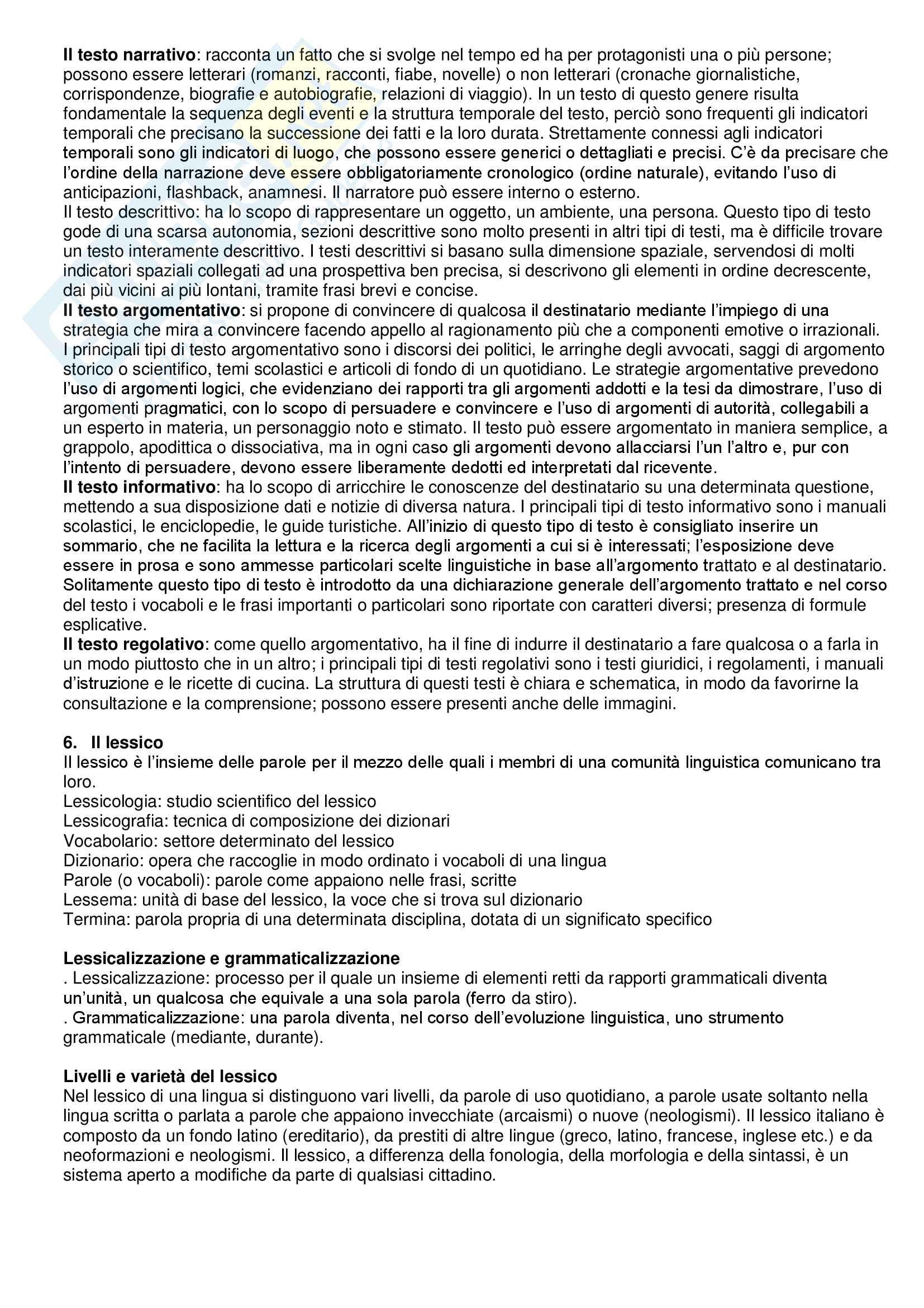Linguistica Italiana Pag. 11