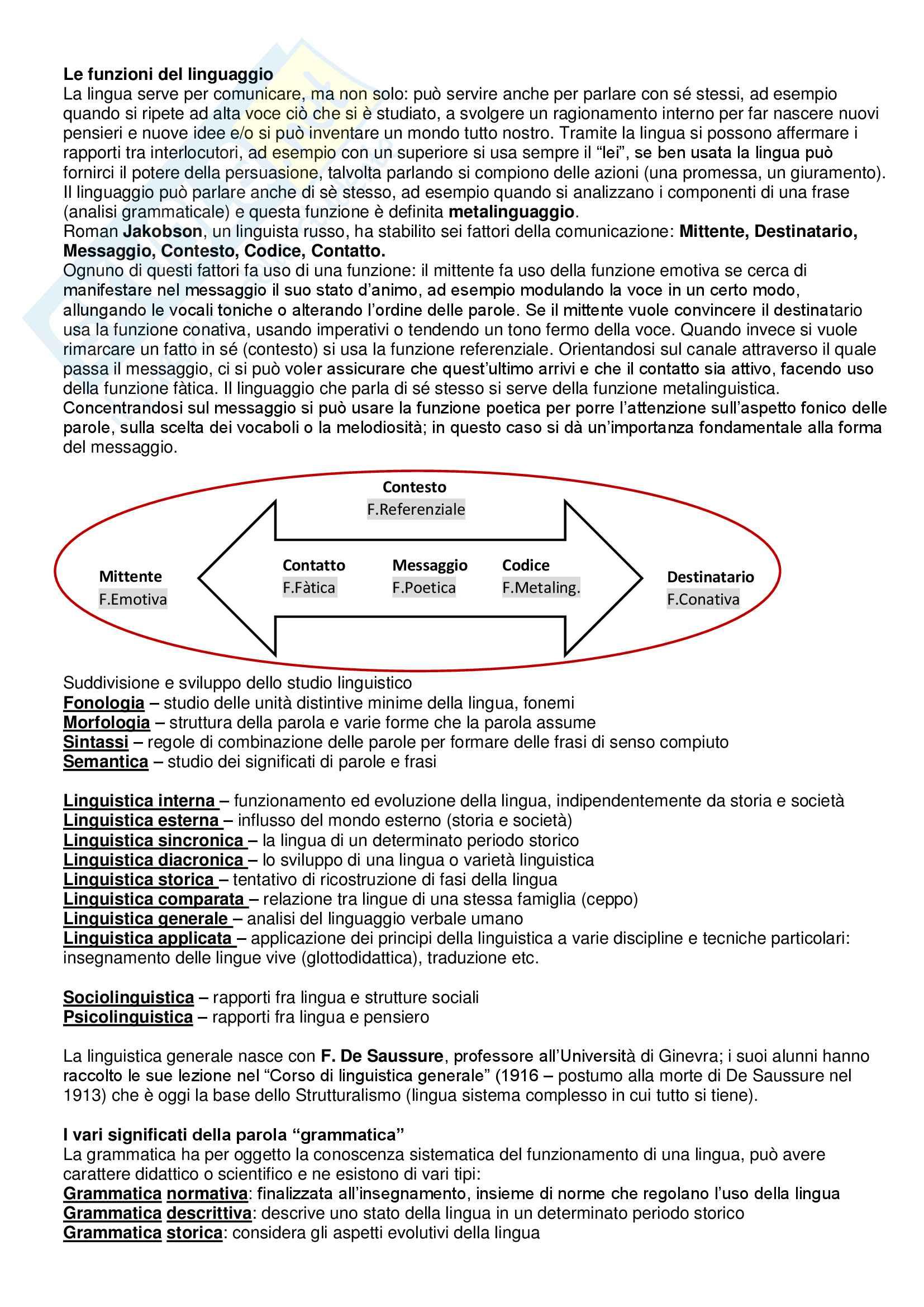 Linguistica Italiana Pag. 2