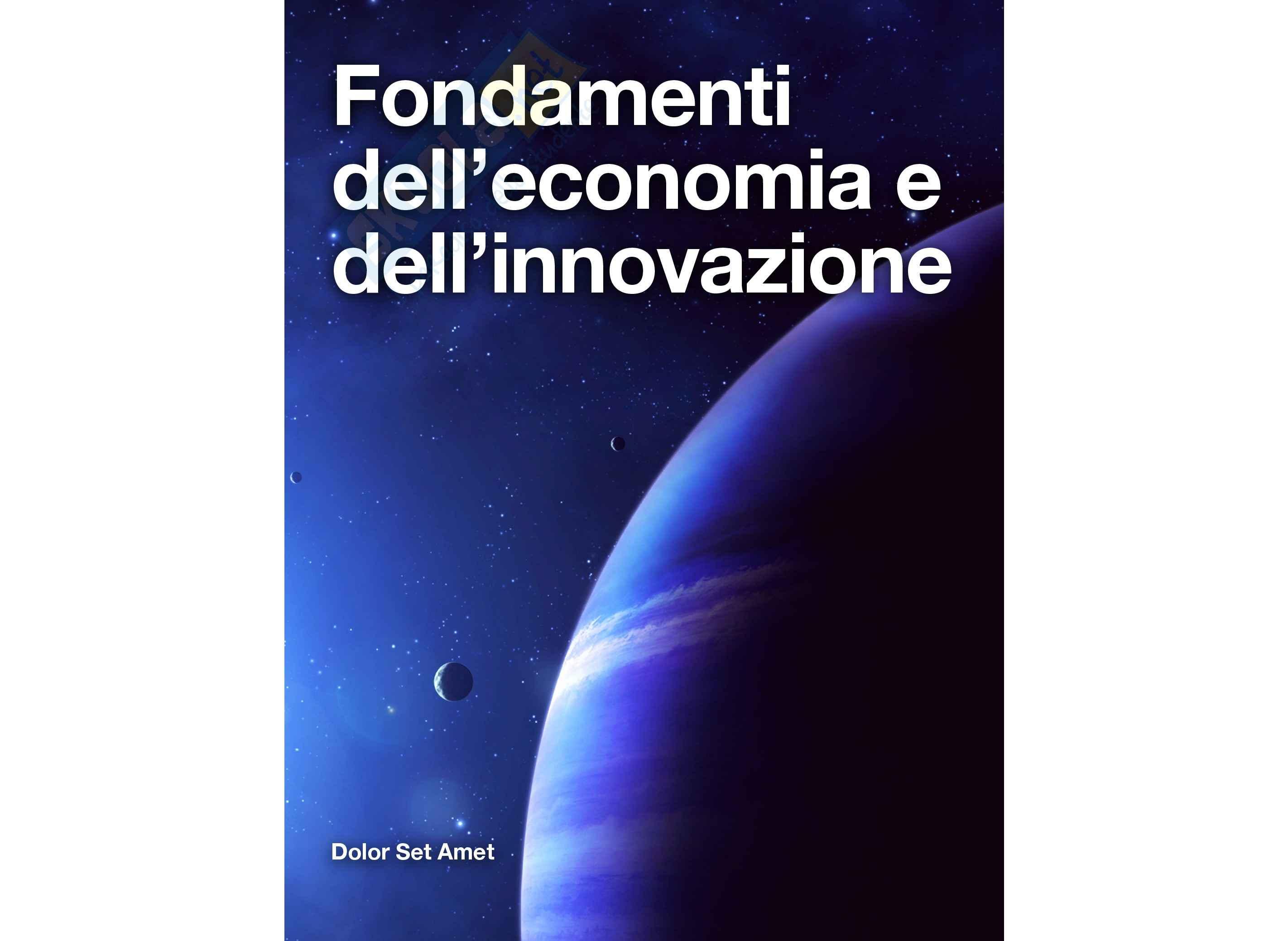 Lezioni, Fondamenti di economia aziendale