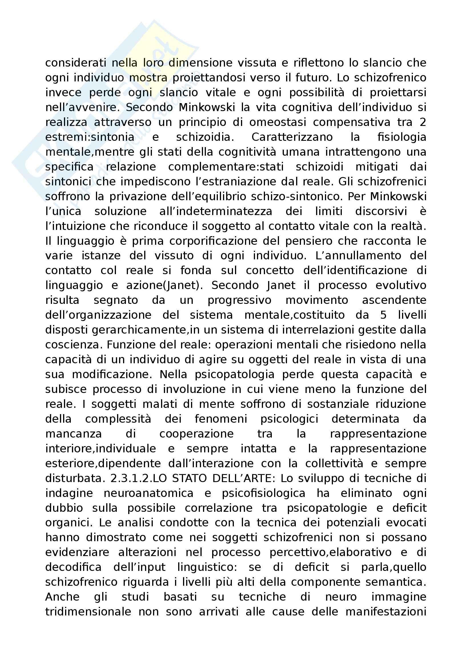 Riassunto esame Psicopatologia del Linguaggio, prof. Cardella, libro consigliato Trattato di Psicopatologia del Linguaggio, Pennisi, Bucca, Falzone Pag. 31