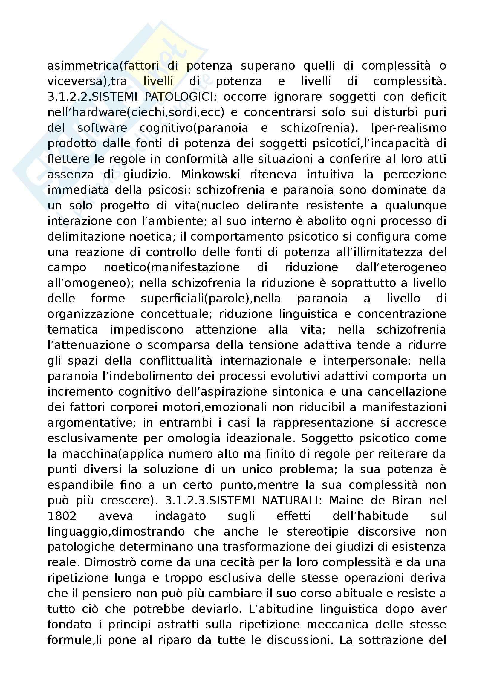 Riassunto esame Psicopatologia del Linguaggio, prof. Cardella, libro consigliato Trattato di Psicopatologia del Linguaggio, Pennisi, Bucca, Falzone Pag. 41