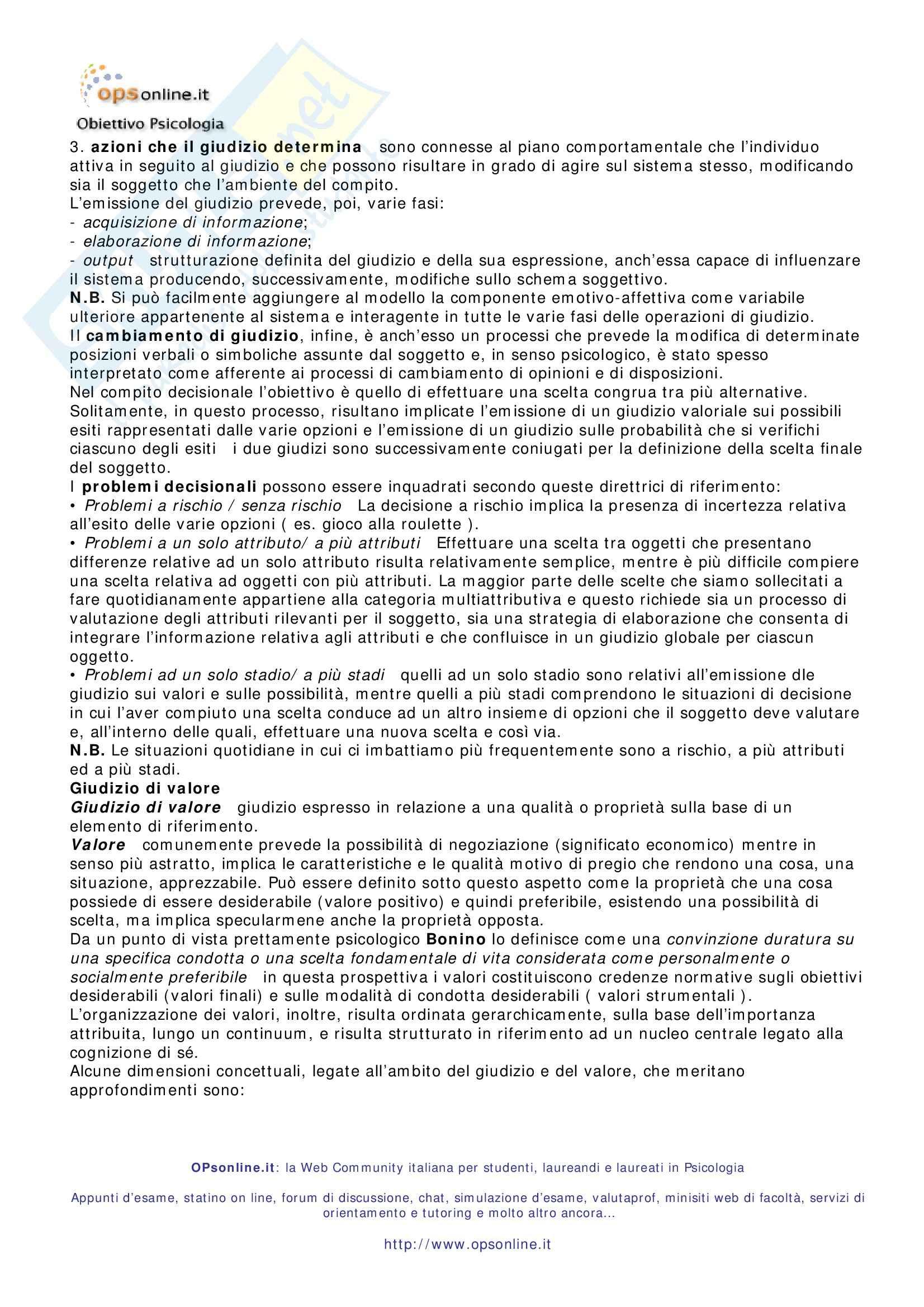 Riassunto esame Psicologia dell'Orientamento Scolastico e Professionale, prof. Di Fabio, libro consigliato Psicologia dell'Orientamento Pag. 36
