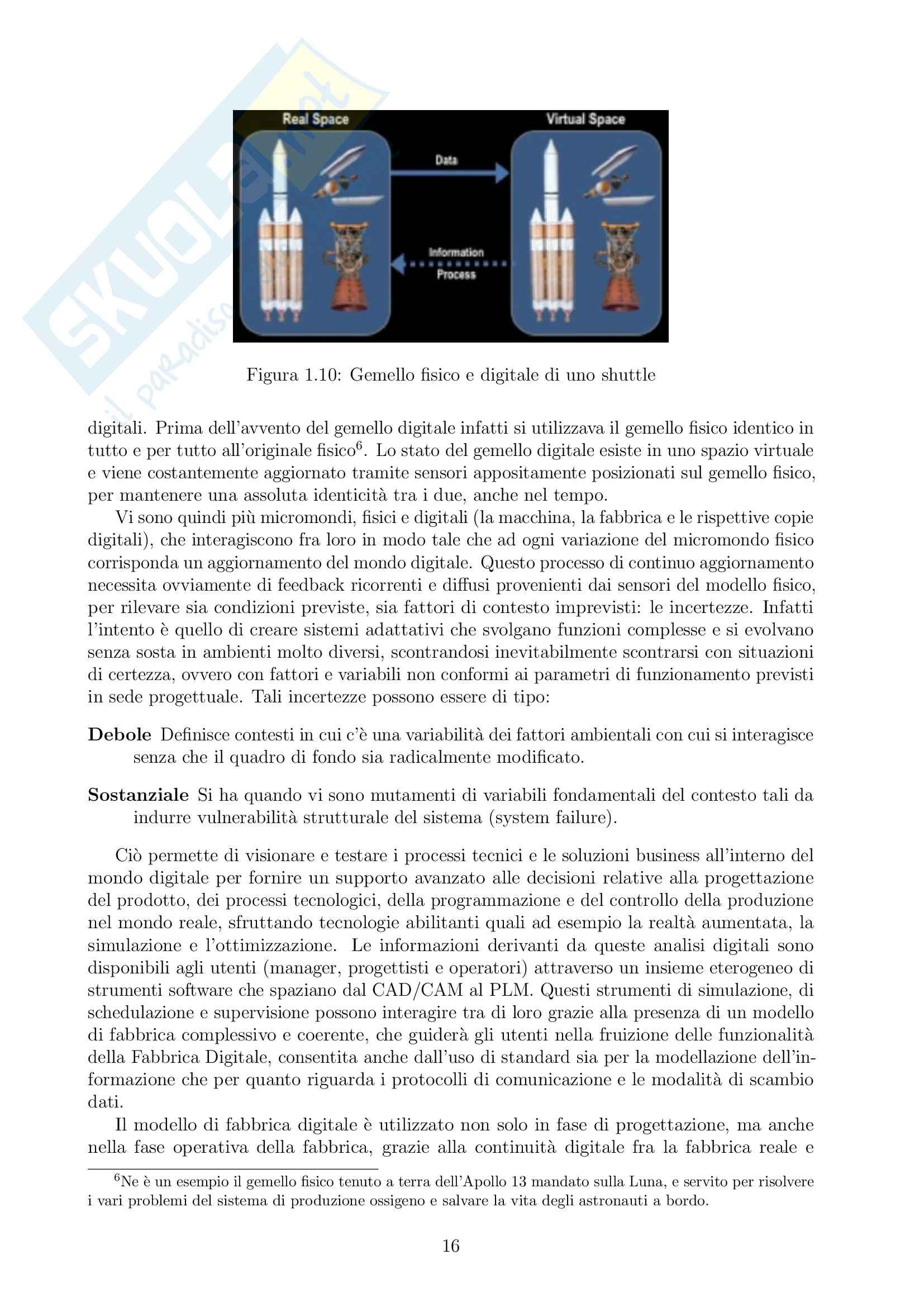 Appunti di Produzione Avanzata nella Fabbrica Digitale + Progetto completo [PAFD - ex PAC] Pag. 16