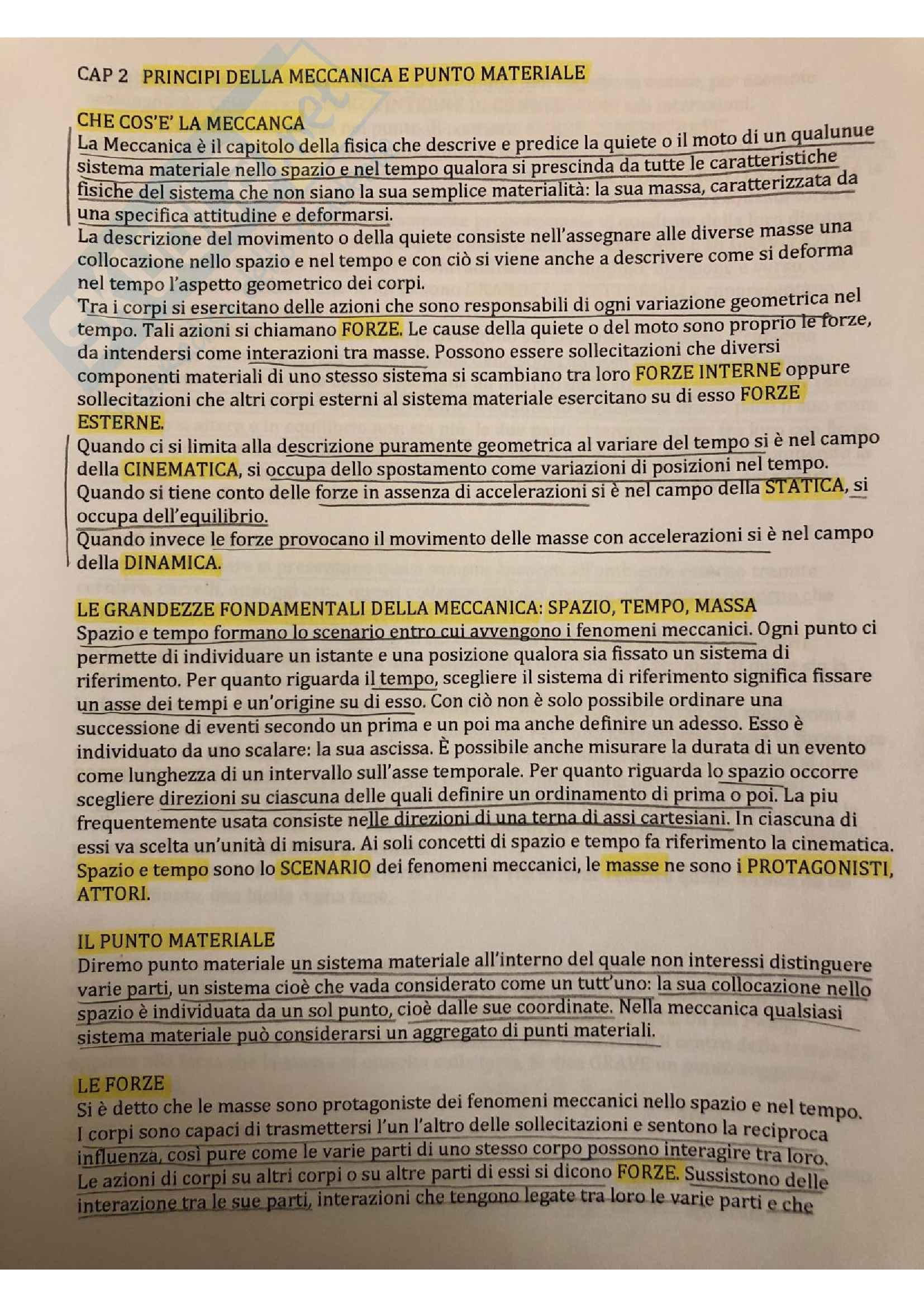 Esame orale Statica, prof. Elsa Garavaglia
