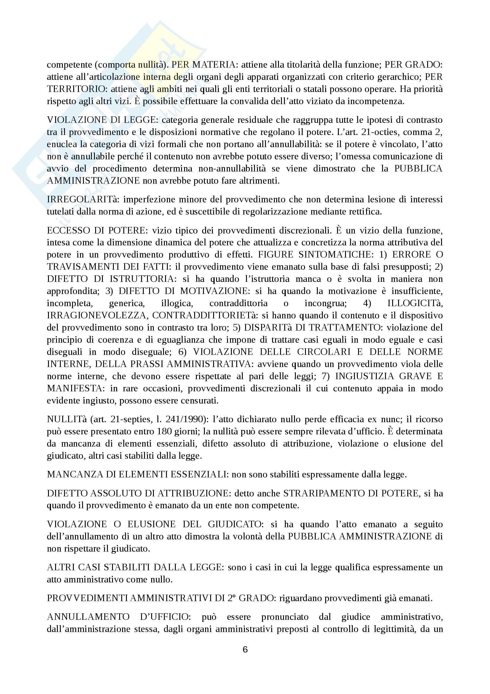 Riassunto principi di diritto pubblico e amministrativo, prof Martines, libro consigliato Manuale di diritto amministrativo, Clarich Pag. 6