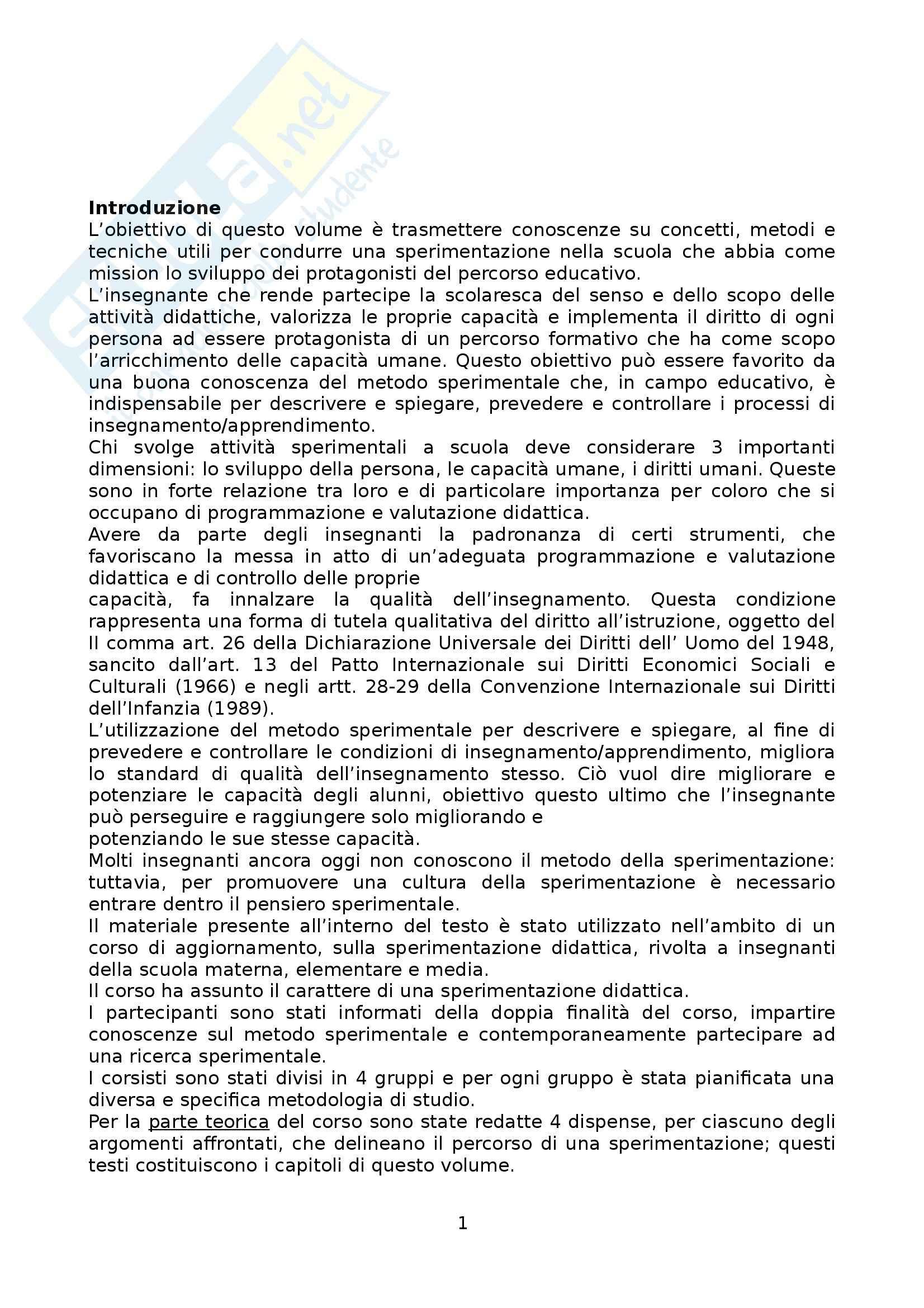 Riassunto esame Psicologia dell'Educazione, prof. Gulì, libro consigliato Apprendere la Cultura della Ricerca Scientifica di Quartuccio