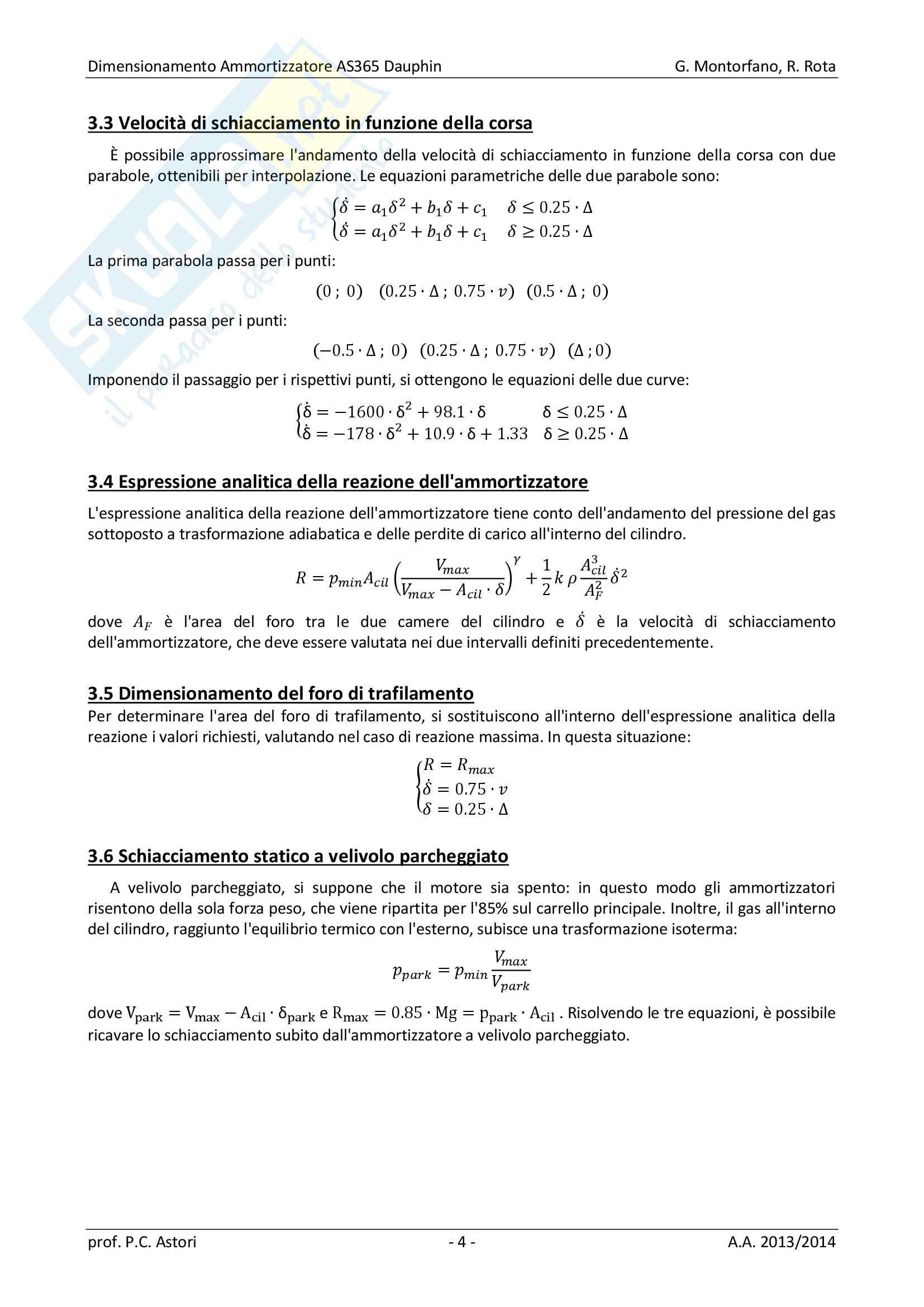 Dimensionamento Ammortizzatore AS365 Dauphin Pag. 6