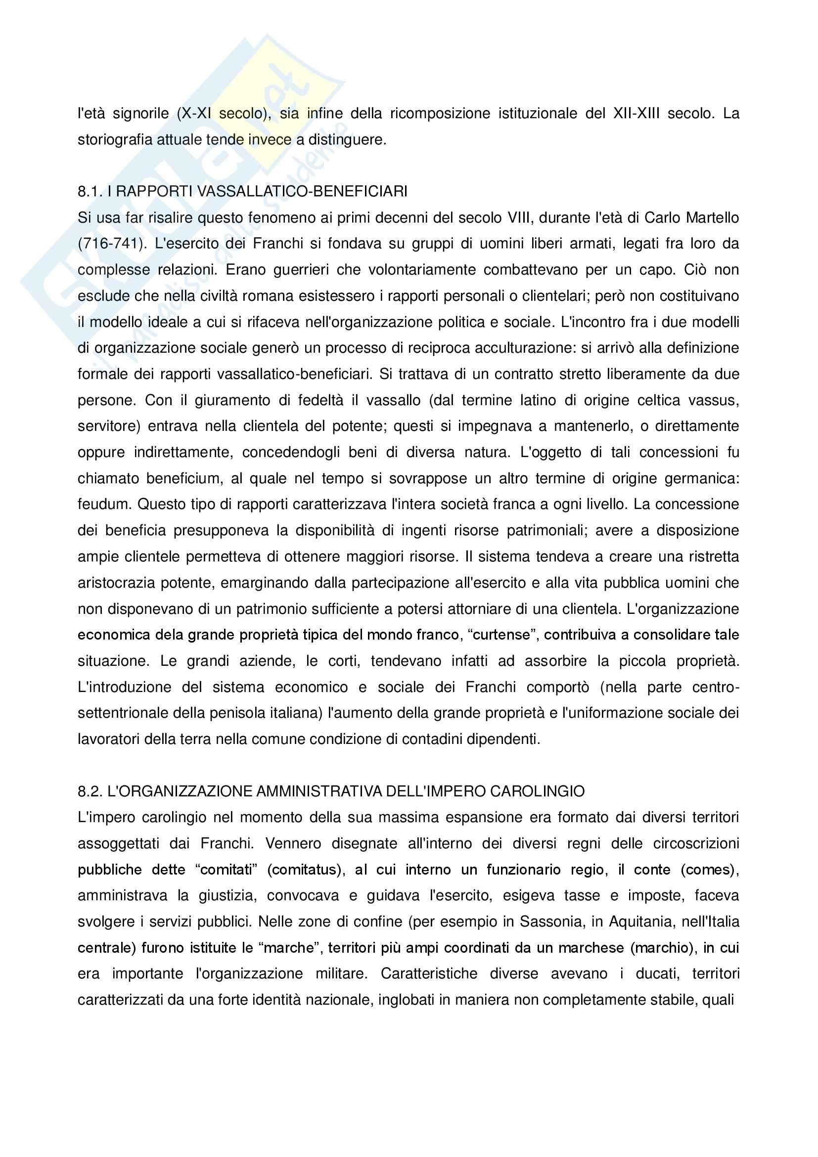 Riassunto esame Storia, prof. Curzel, libro consigliato Storia medievale, Montanari Pag. 26