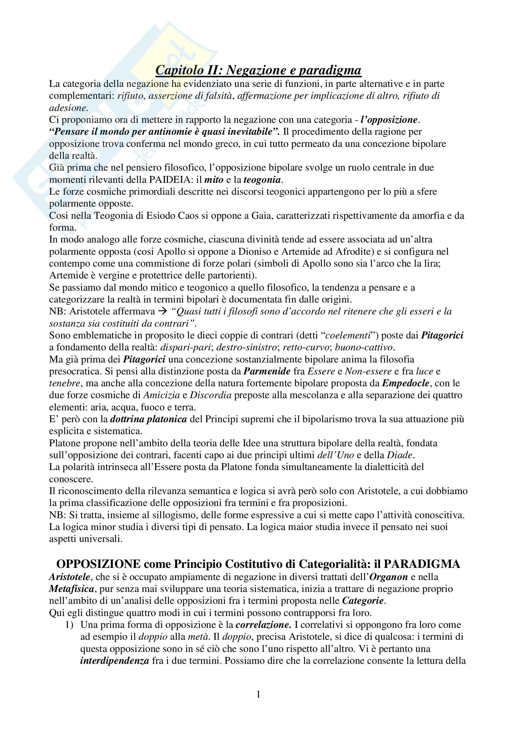 appunto M. Gatti Linguistica generale