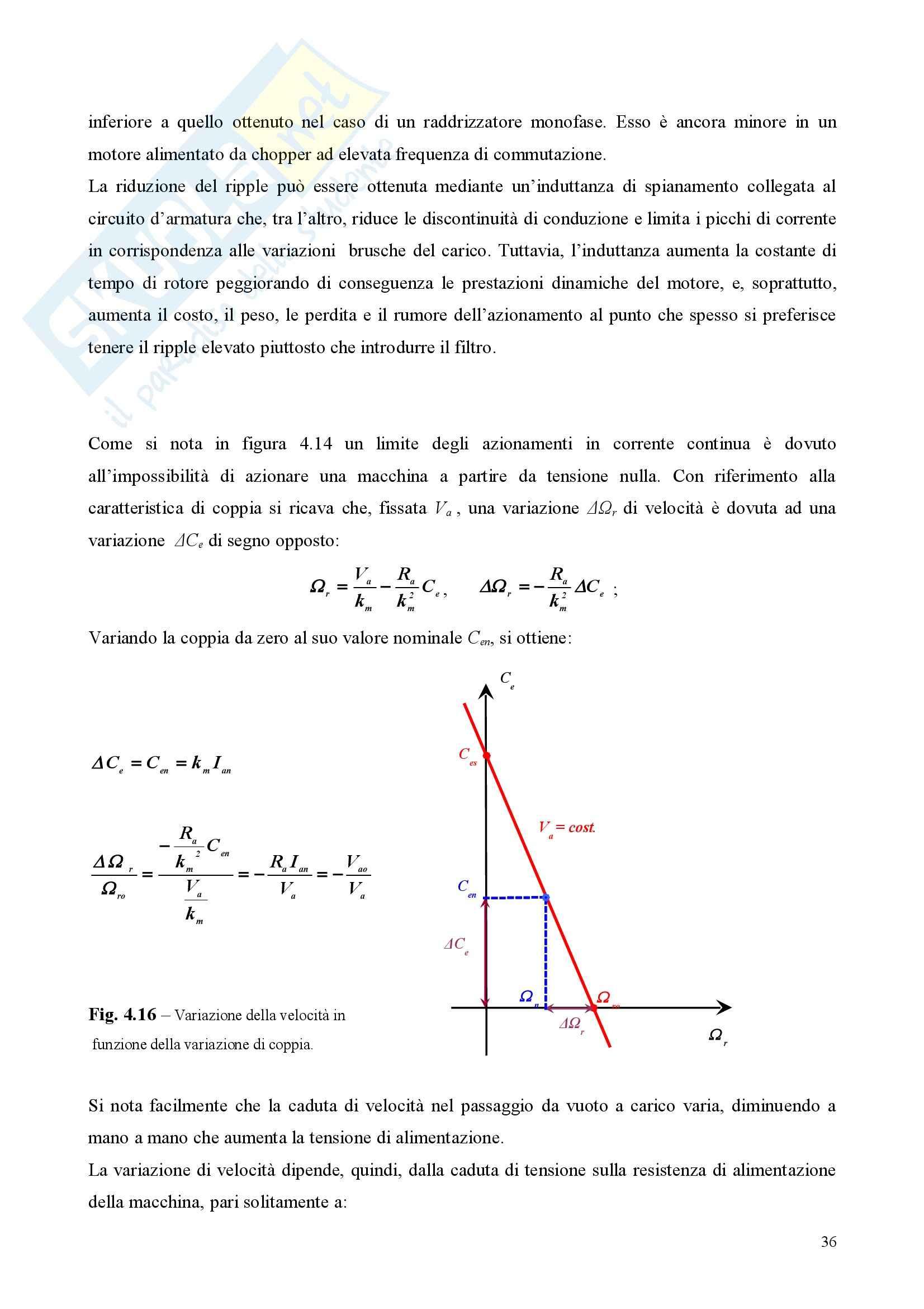 Azionamenti Elettrici - prima parte - Appunti Pag. 36
