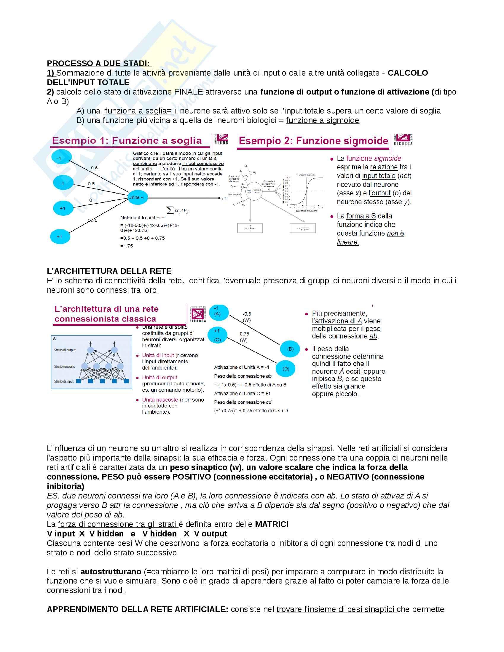 Riassunto esame Psicologia generale, docente Ricciardelli, libro consigliato Psicologia generale, Paolo Cherubini Pag. 6