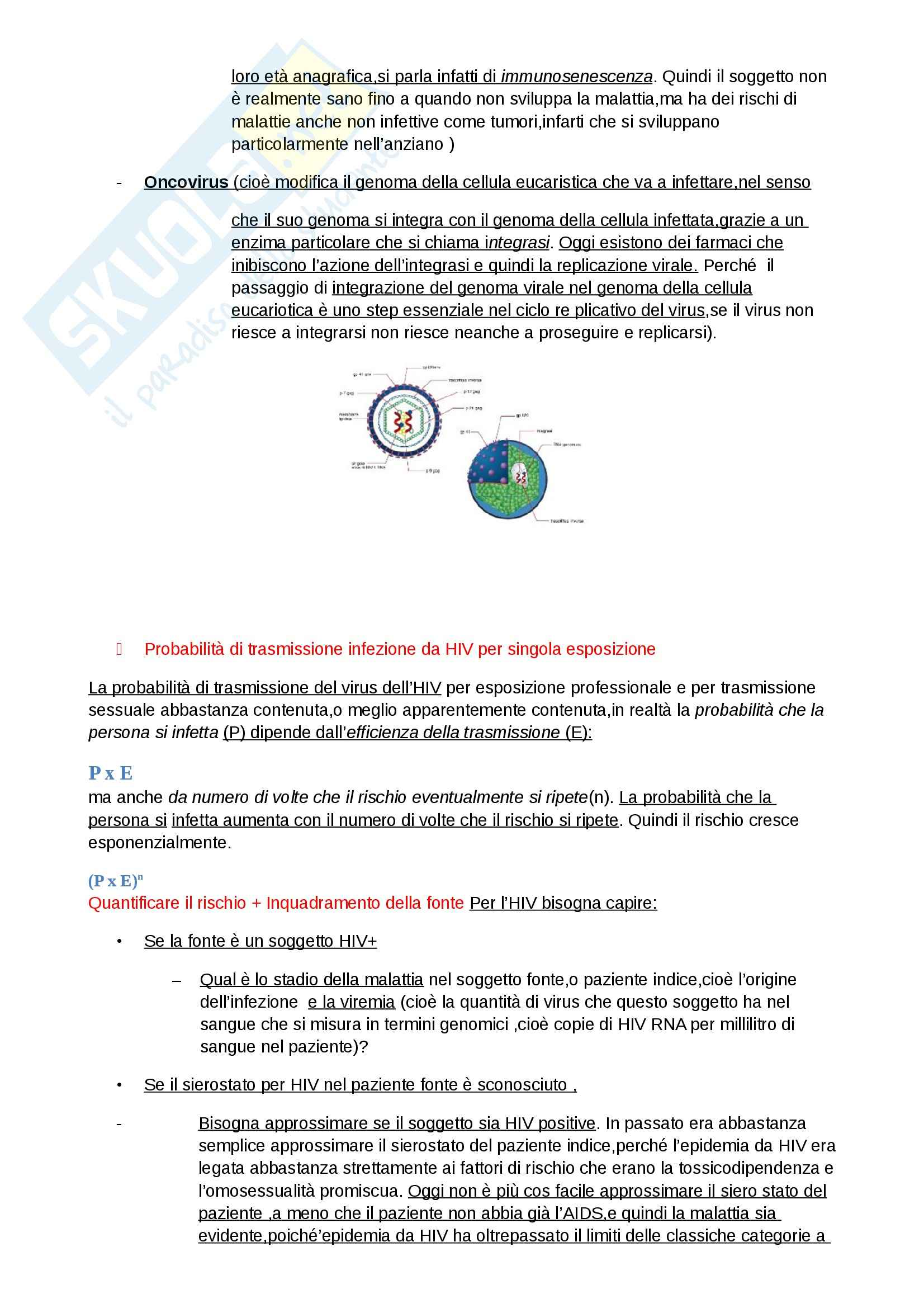 Epatite e AIDS, Malattie infettive Pag. 6