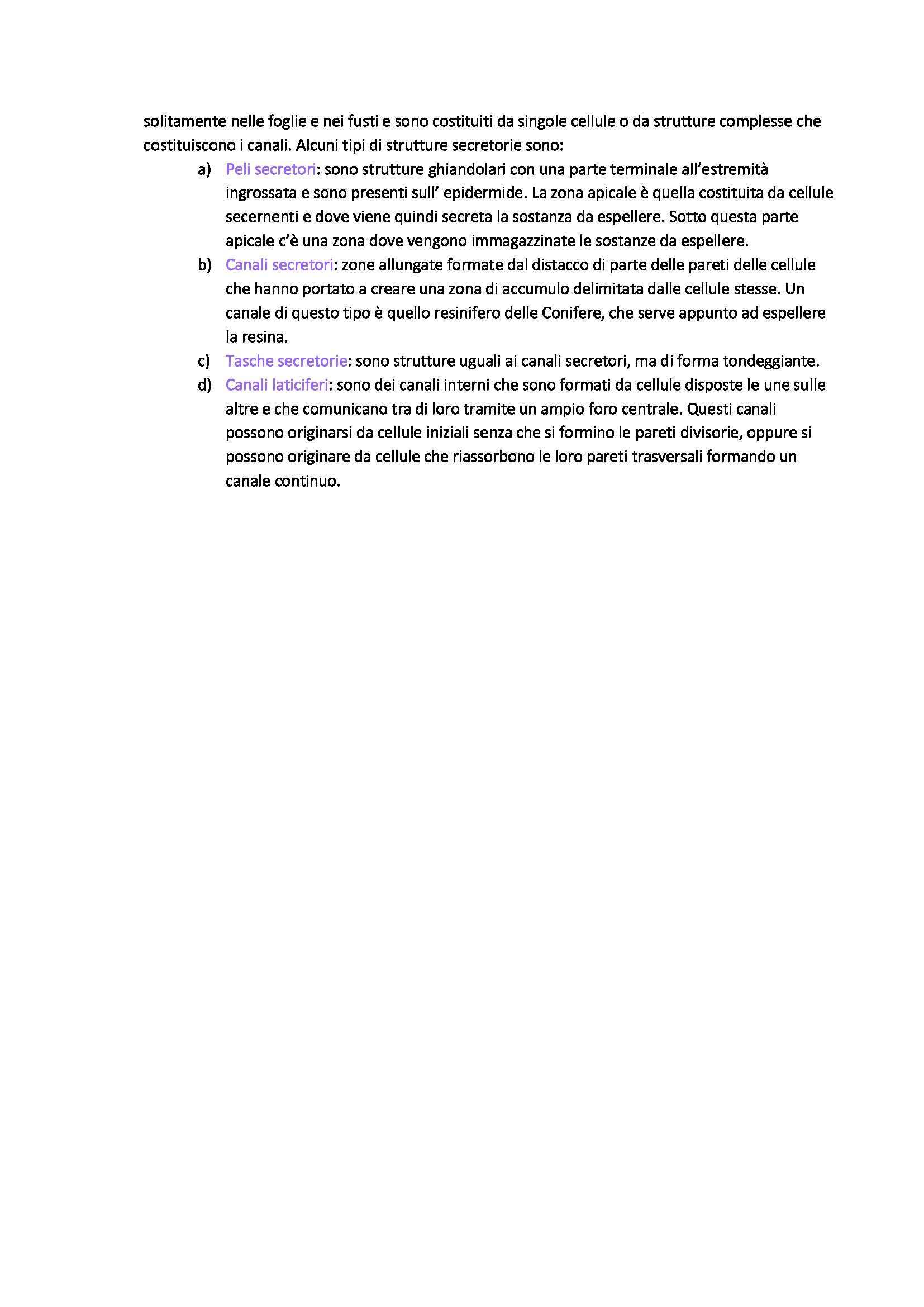 Biologia vegetale e botanica farmaceutica - tessuti vegetali Pag. 11