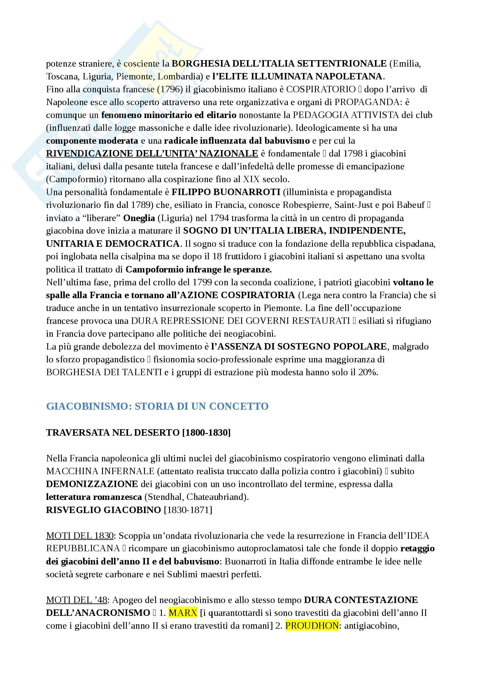 Riassunto esame Storia della Francia, prof. Vetter Pag. 21