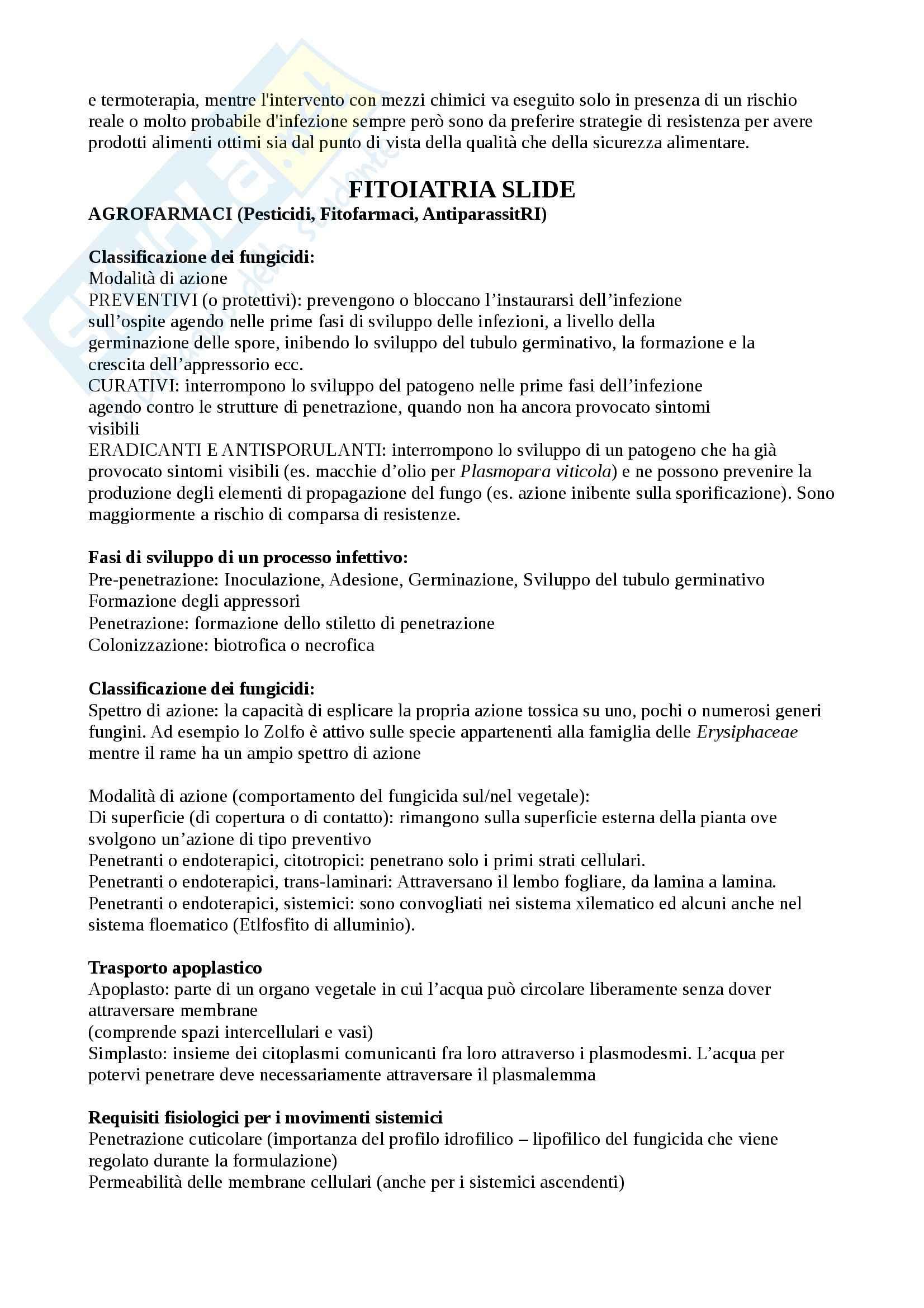 Riassunto esame Patologia Vegetale, prof. Agosteo Pag. 31