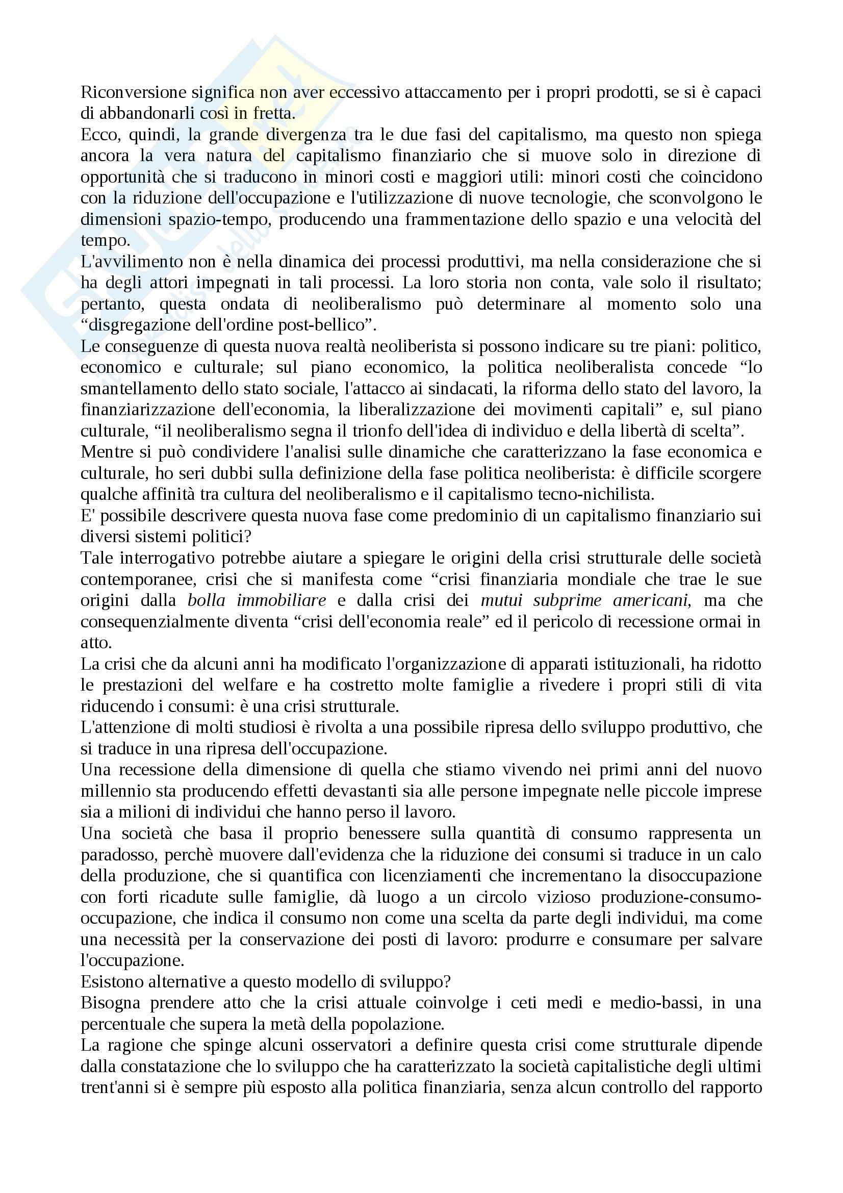 Riassunto esame Metodi e Tecniche della Ricerca Sociale, prof. Selvaggio, libro consigliato Tra Vulnearbilità e Resilienza, Ammaturo Pag. 2