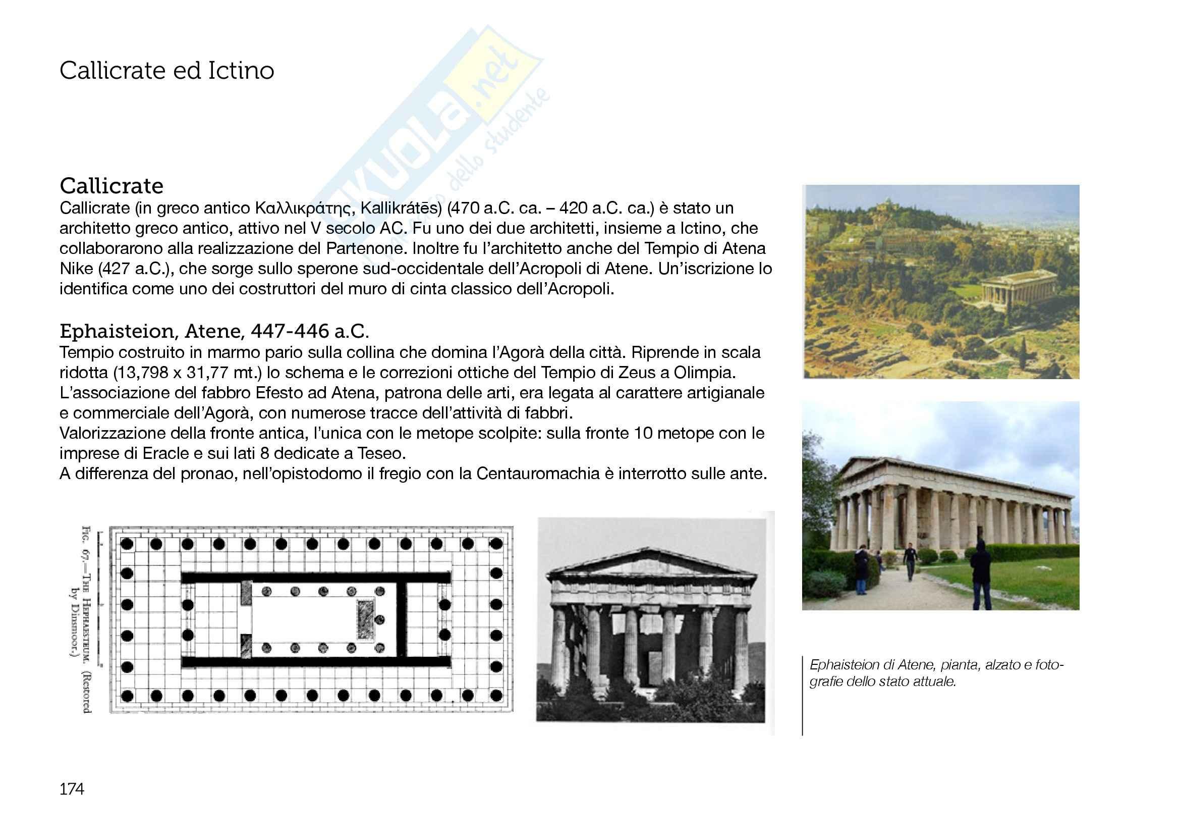 Architettura Greca - Appunti parte 2
