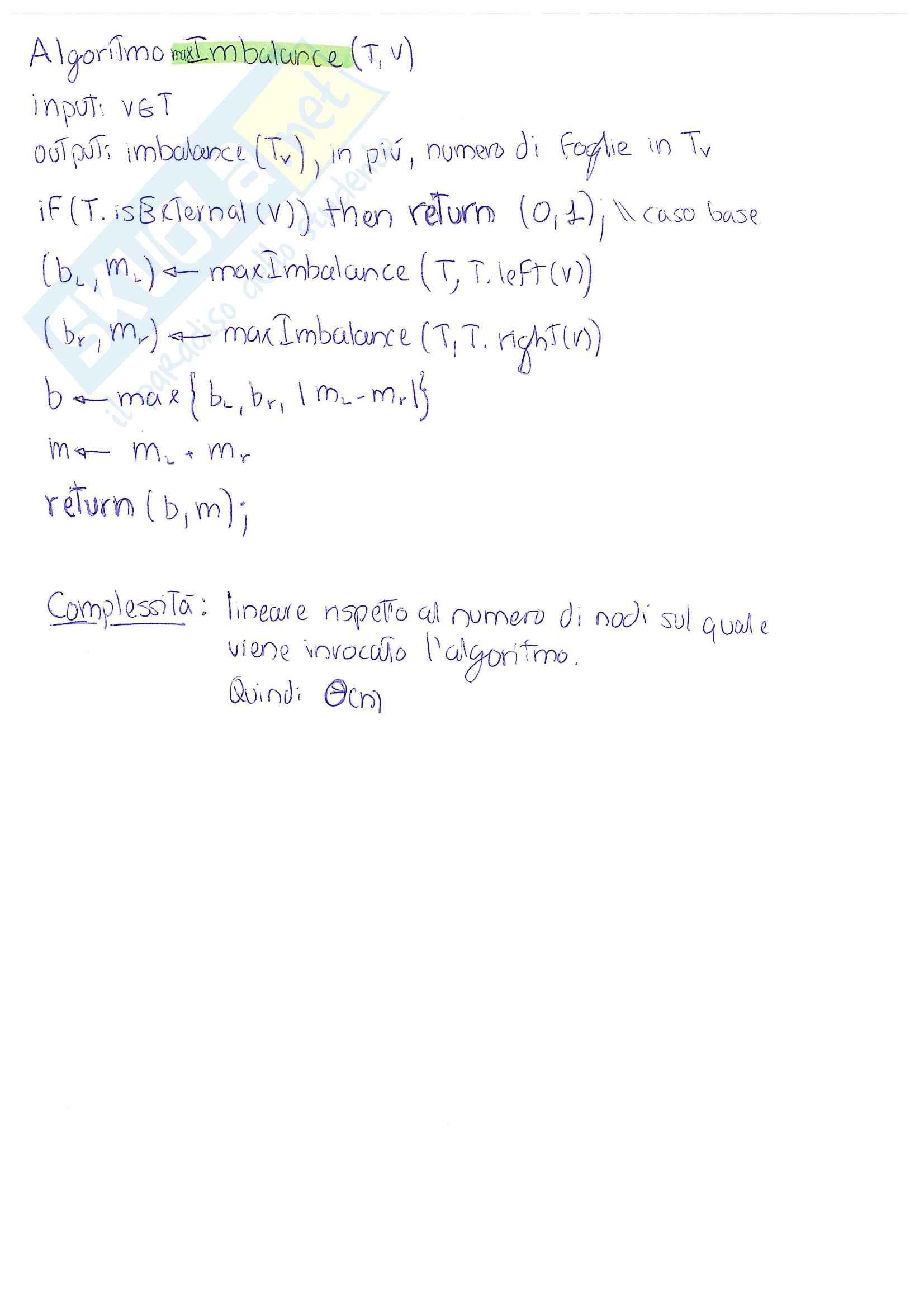 Dati e Algoritmi 1 - appunti essenziali ed esercizi Pag. 36