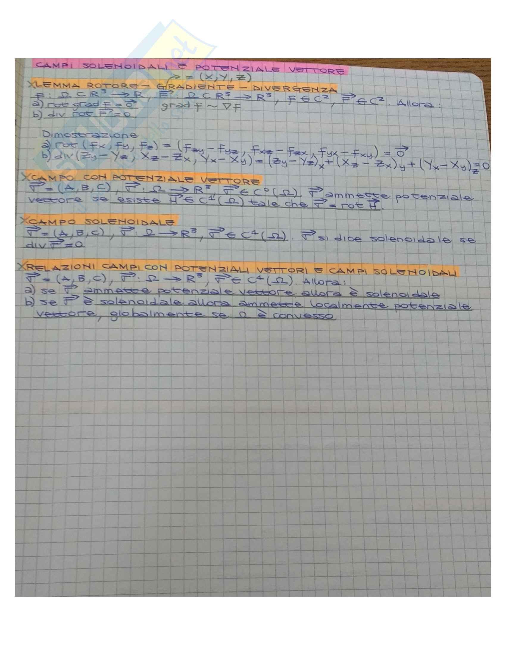 Analisi 2 (Riassunto Teoria) Pag. 26