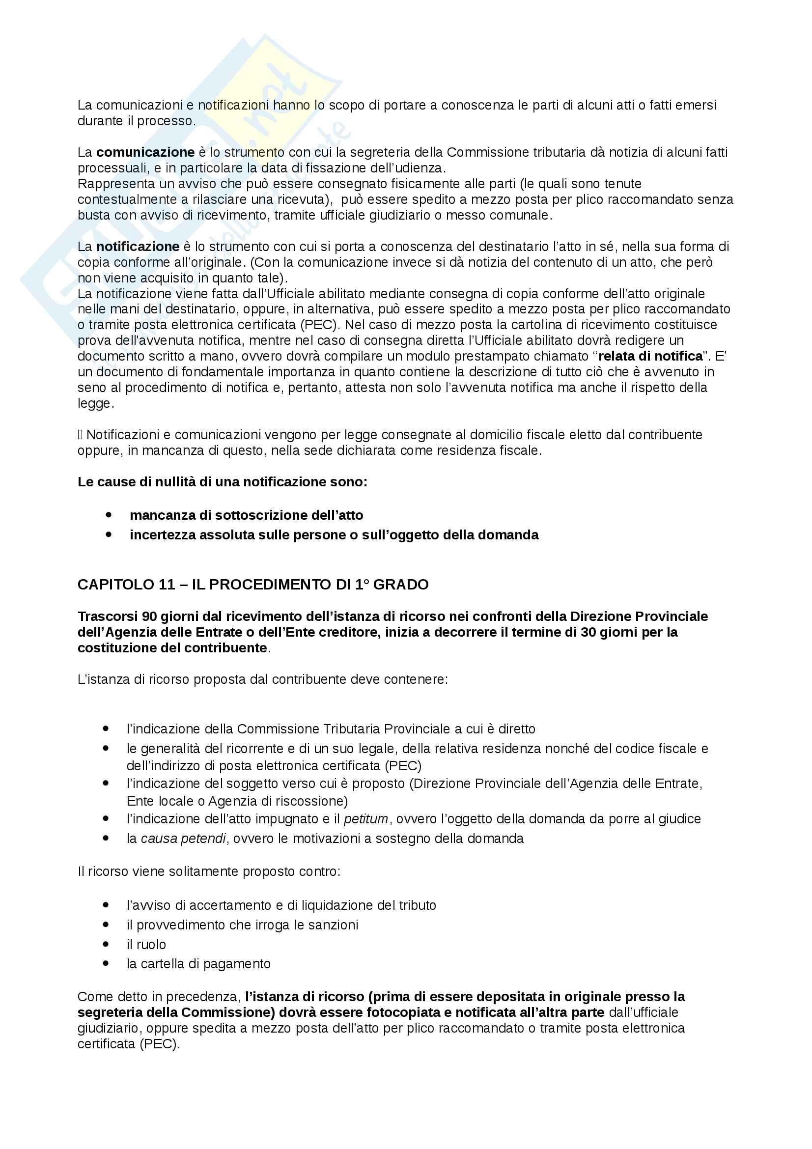 Appunti Diritto tributario d'impresa, prof. Giorgi Pag. 46