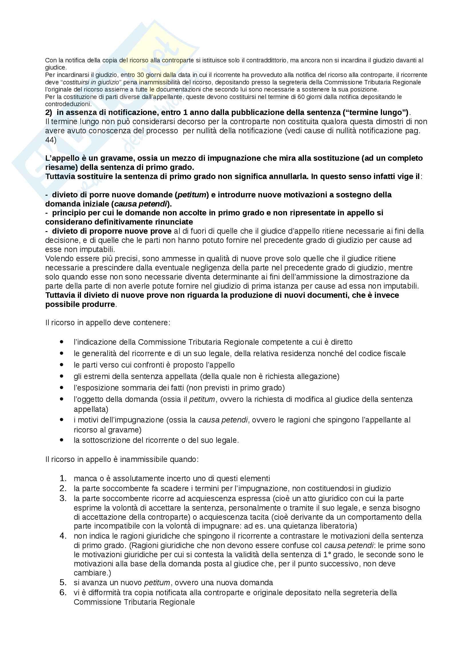 Appunti Diritto tributario d'impresa, prof. Giorgi Pag. 51