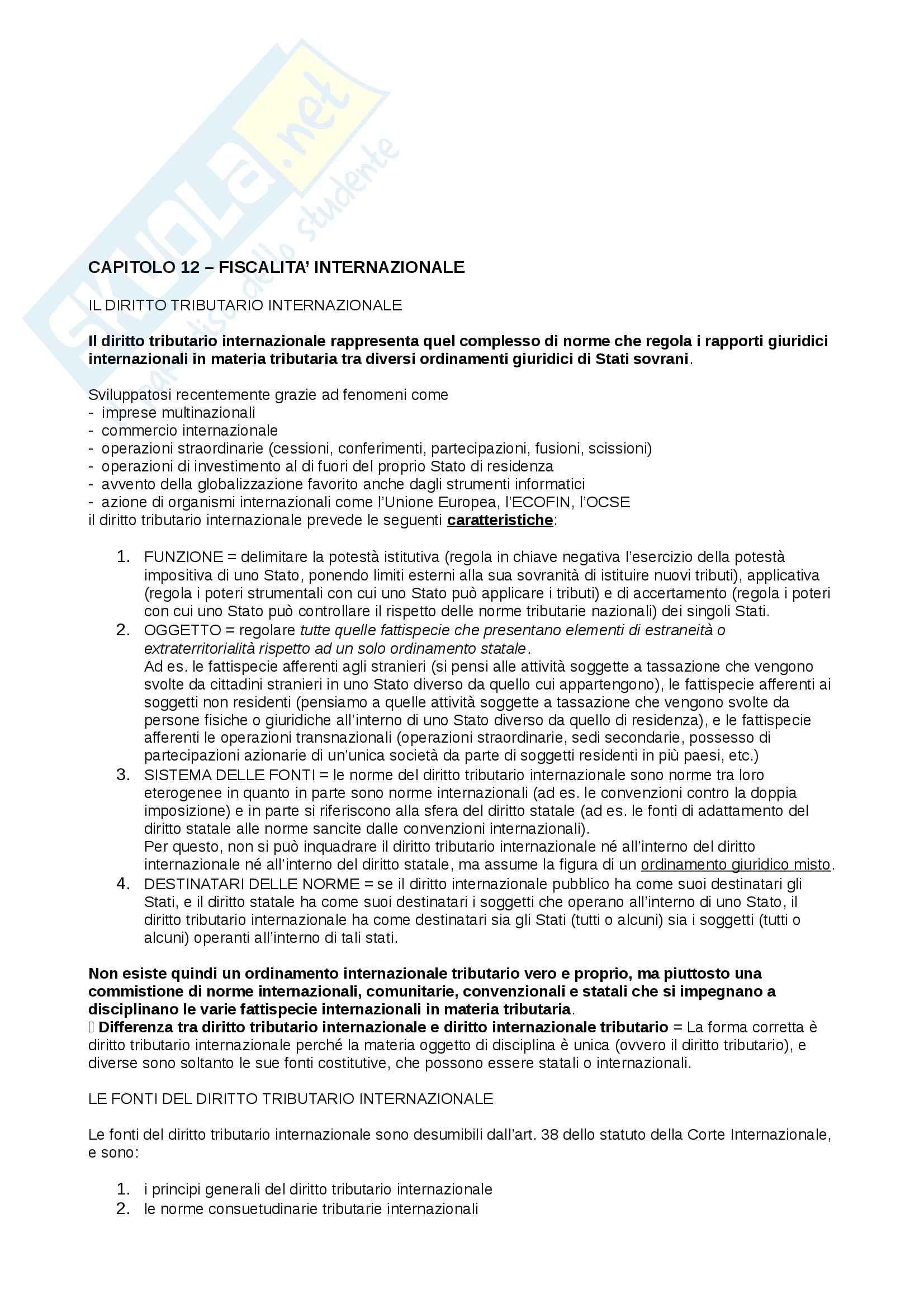 Appunti Diritto tributario d'impresa, prof. Giorgi Pag. 56