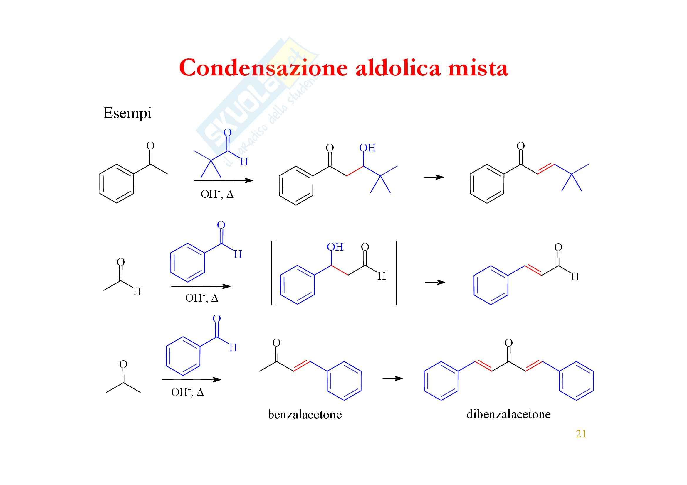 Chimica organica - enoli ed enolati Pag. 21