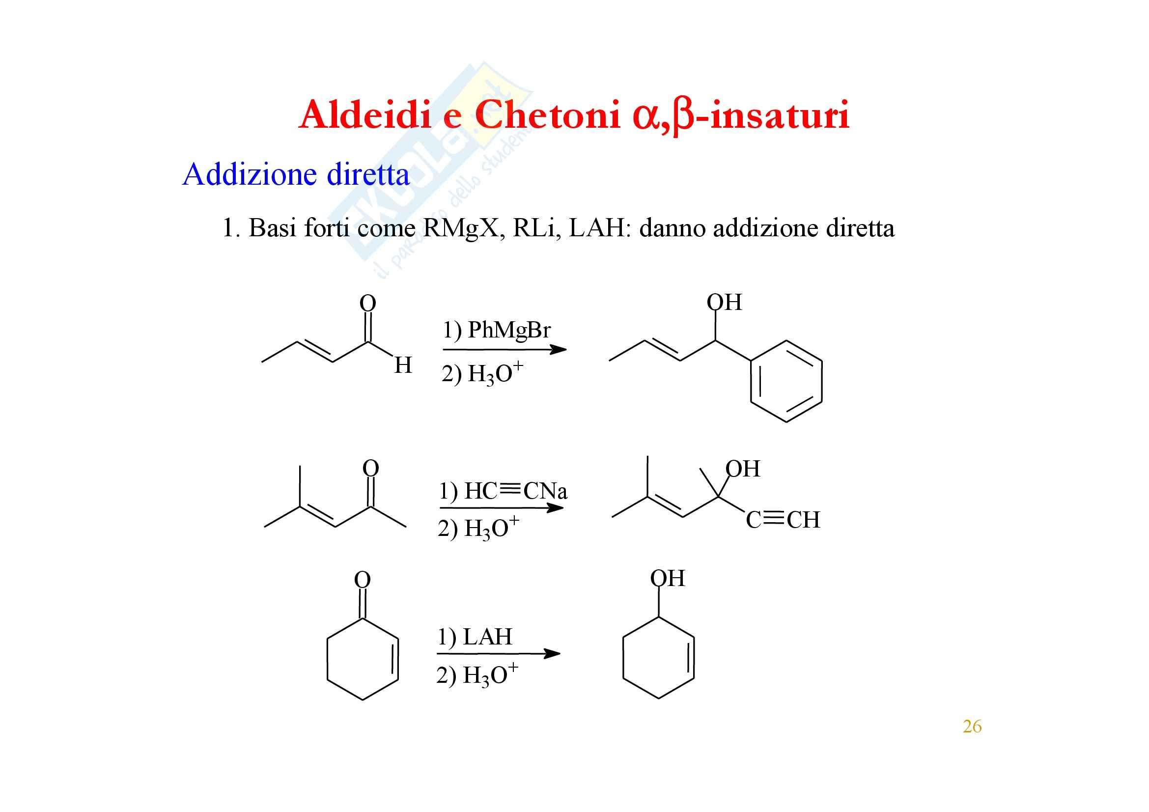 Chimica organica - enoli ed enolati Pag. 26