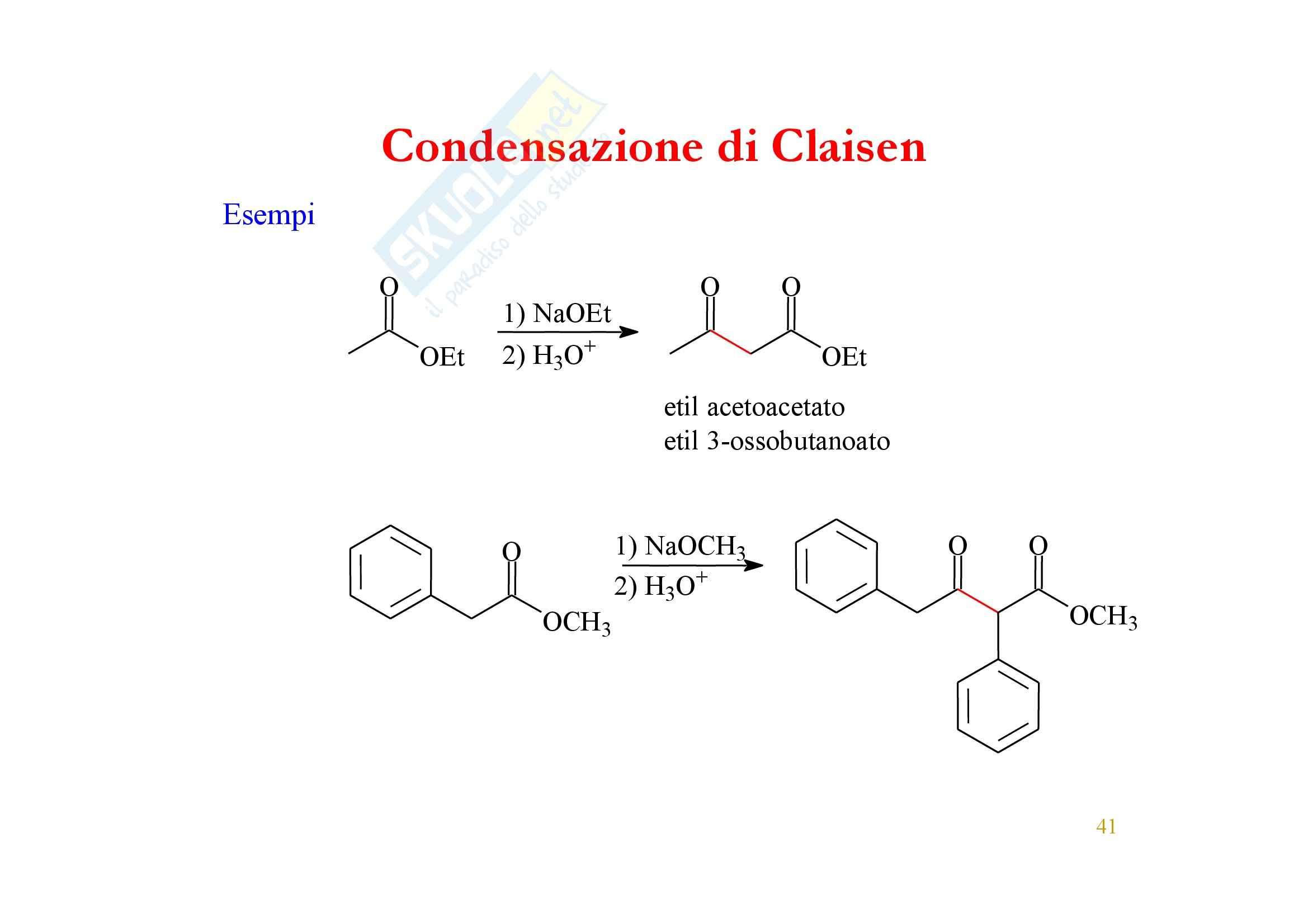 Chimica organica - enoli ed enolati Pag. 41