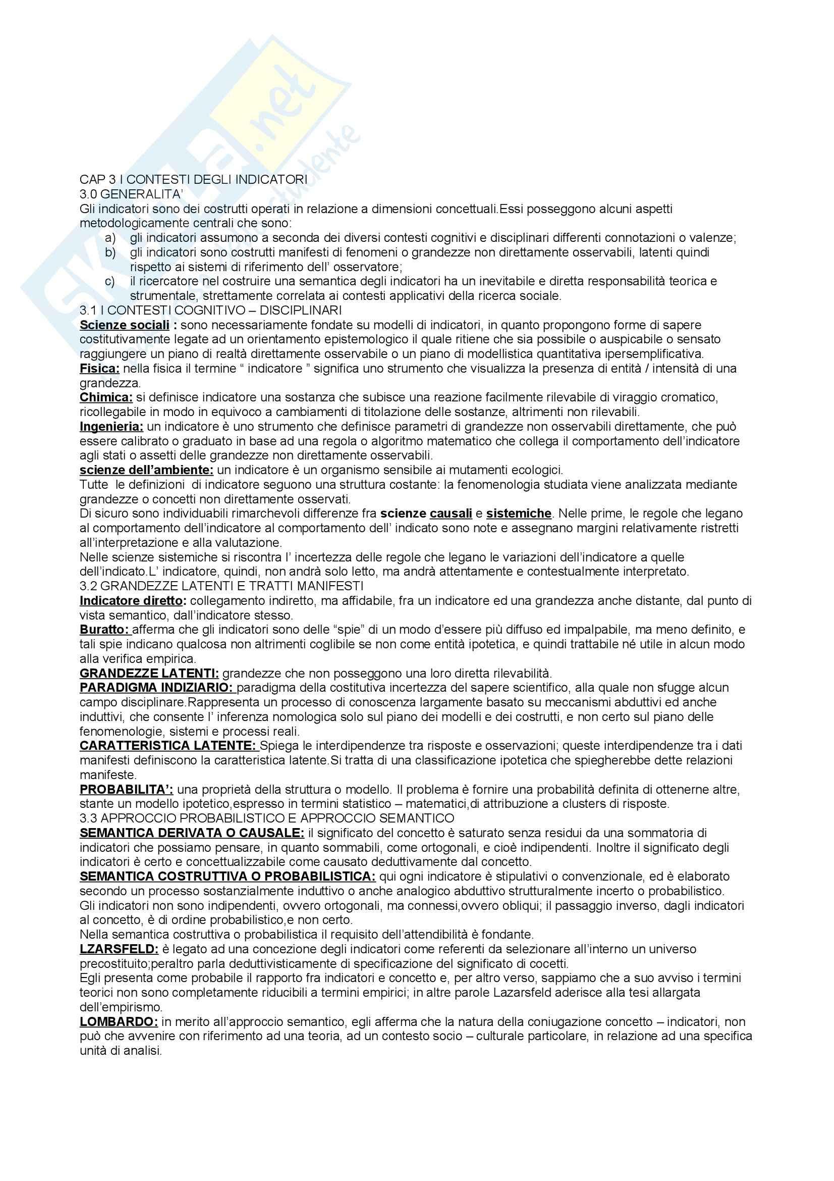 Indicatori ricerca sociale Pag. 6