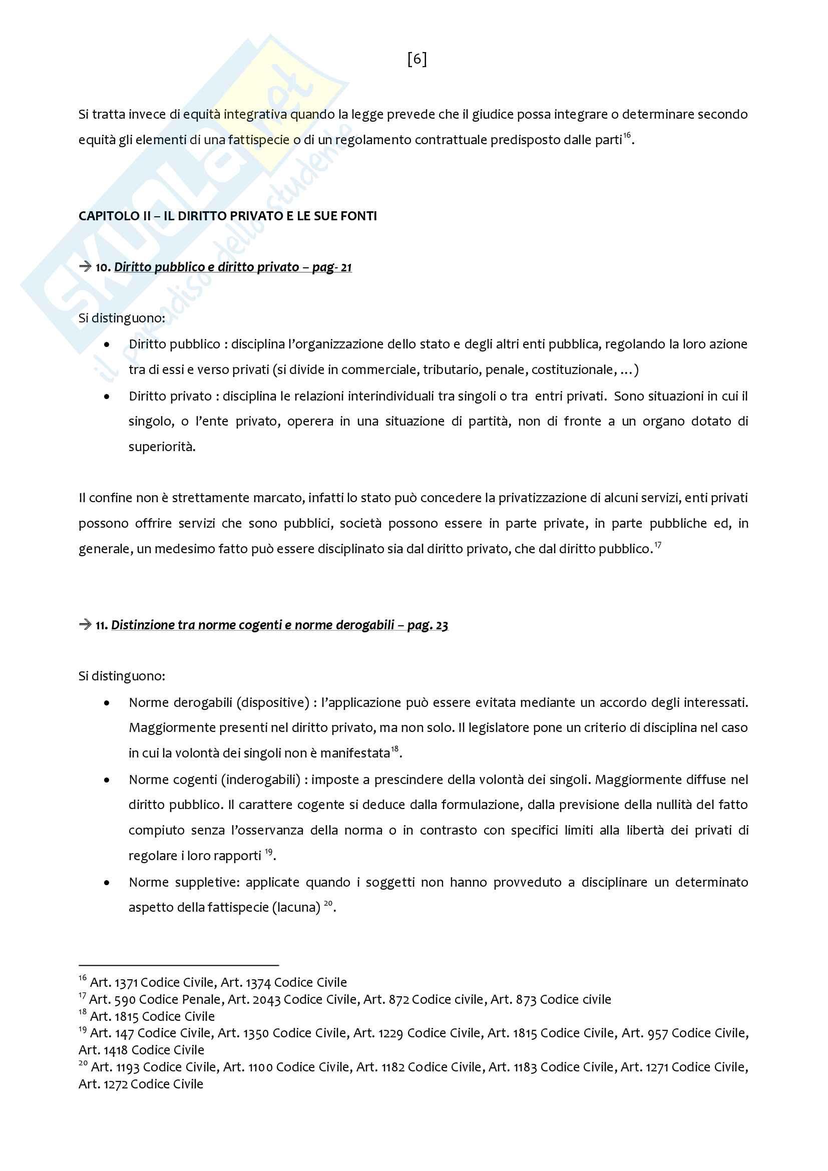 Riassunto esame Diritto Privato, prof. Addis, libro consigliato Manuale di Diritto Privato, Torrente, Schlesinger Pag. 6