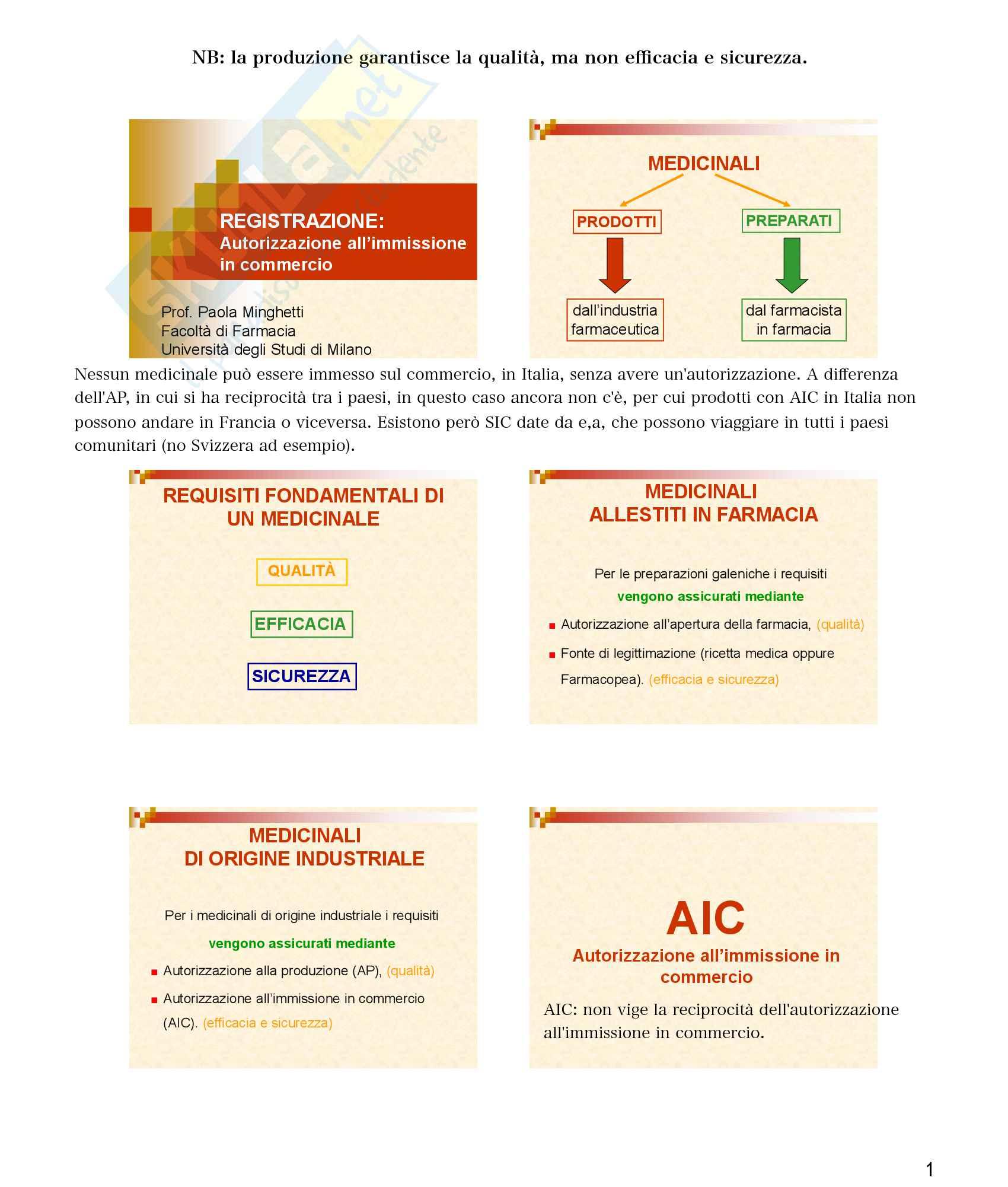 Legislazione - AIC