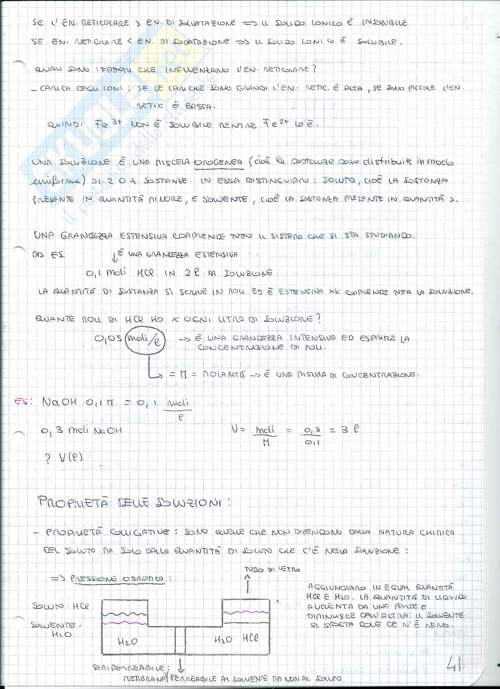 Lezioni, Chimica Generale Pag. 41